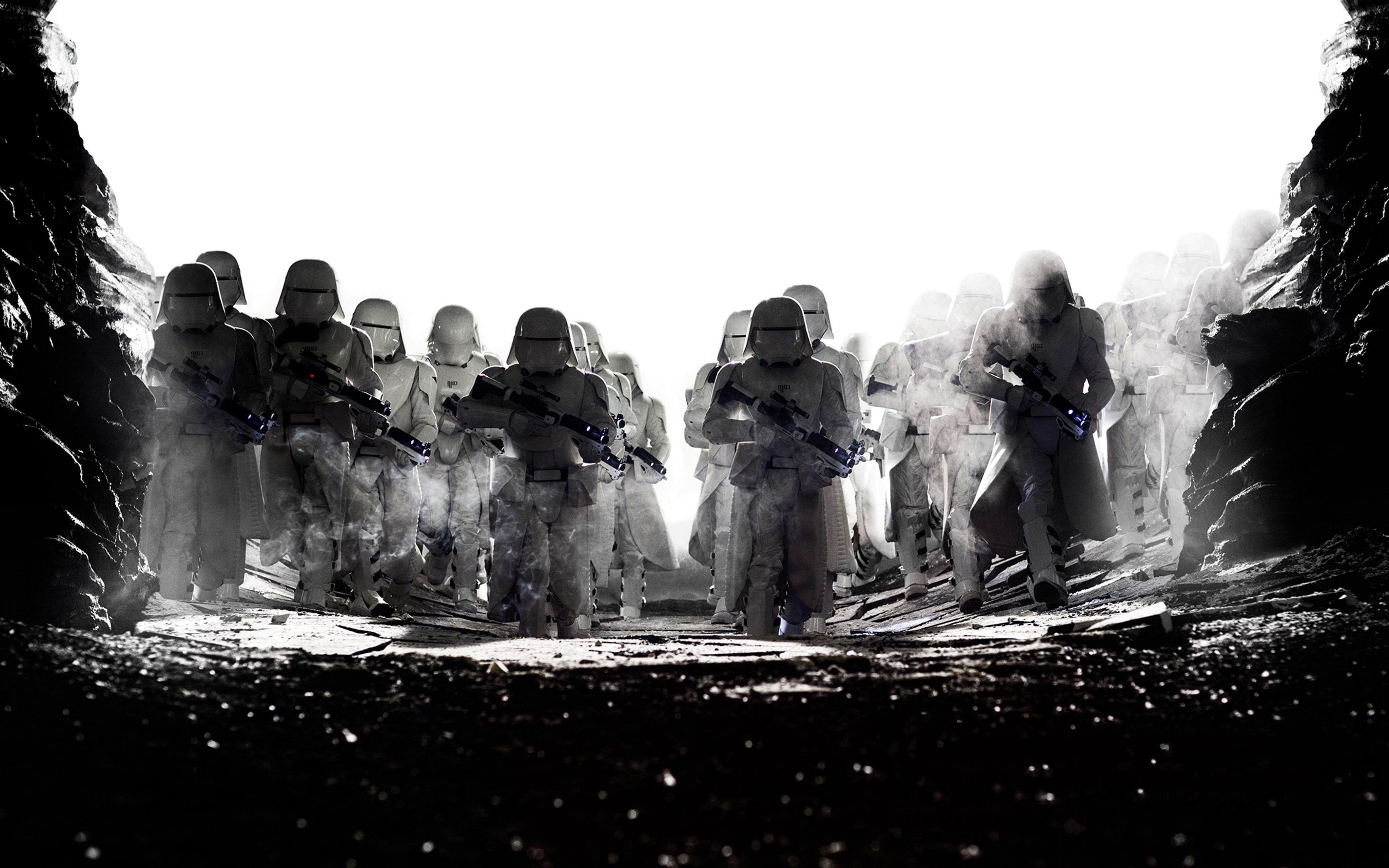 Wallpaper 4k Star Wars The Last Jedi Snowtroopers 4k Cure Jedi