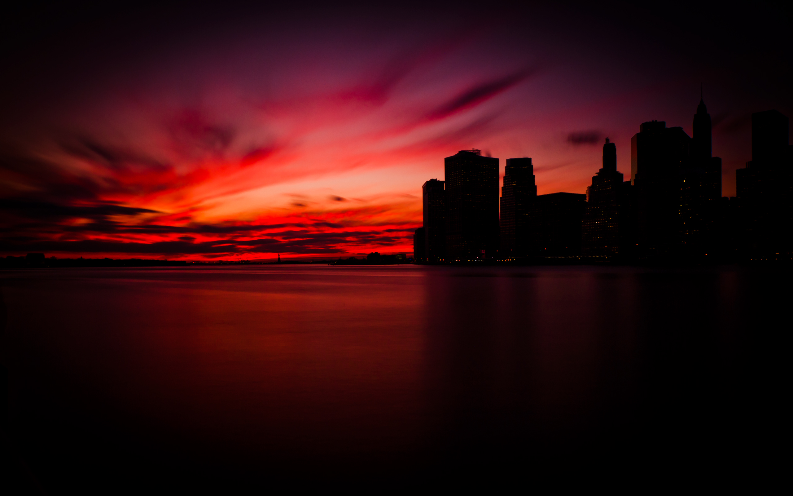 Sunset in Manhattan7435713876 - Sunset in Manhattan - sunset, Olympic, Manhattan