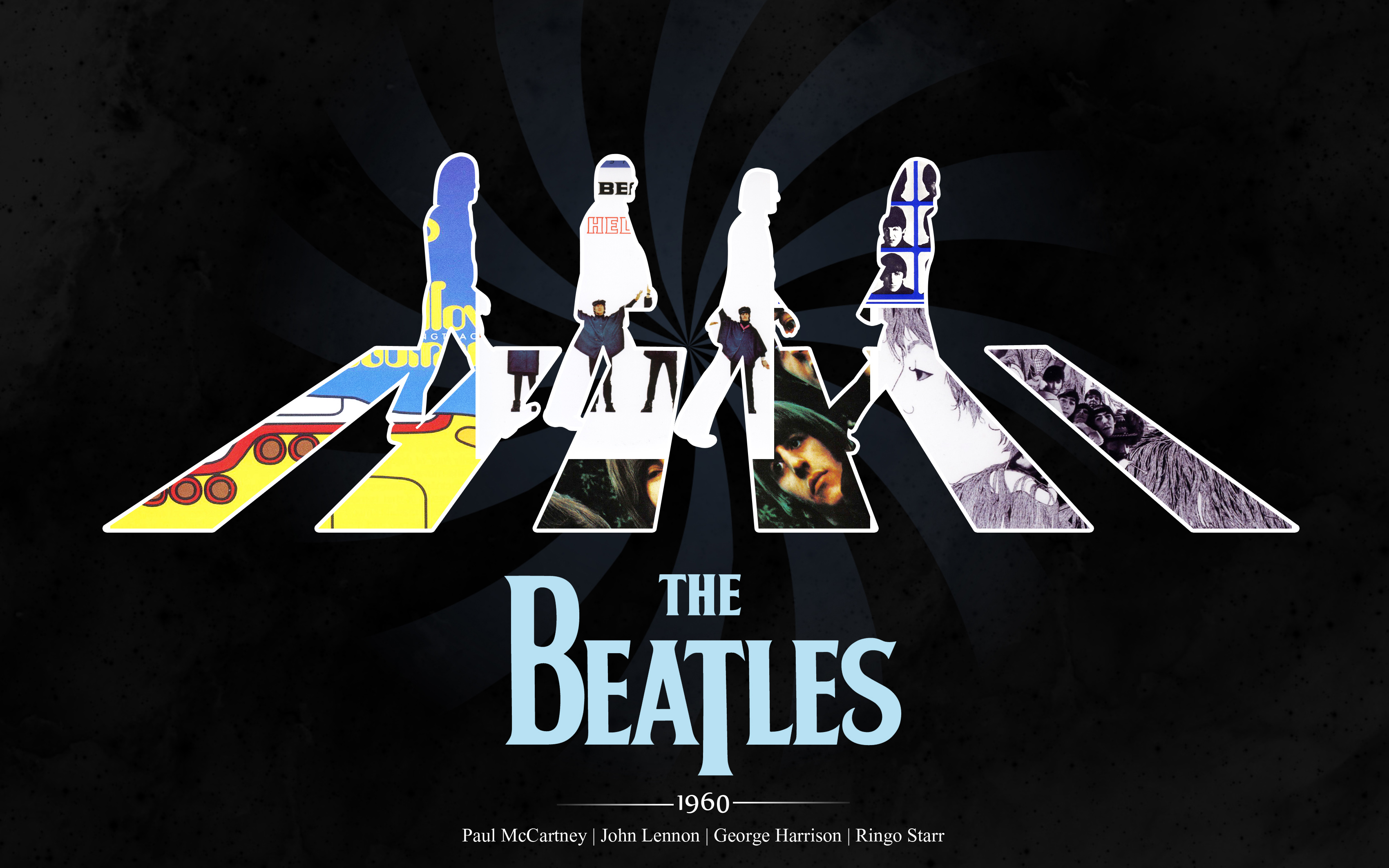 The Beatles 4K9593811817 - The Beatles 4K - The, Guitars, Beatles