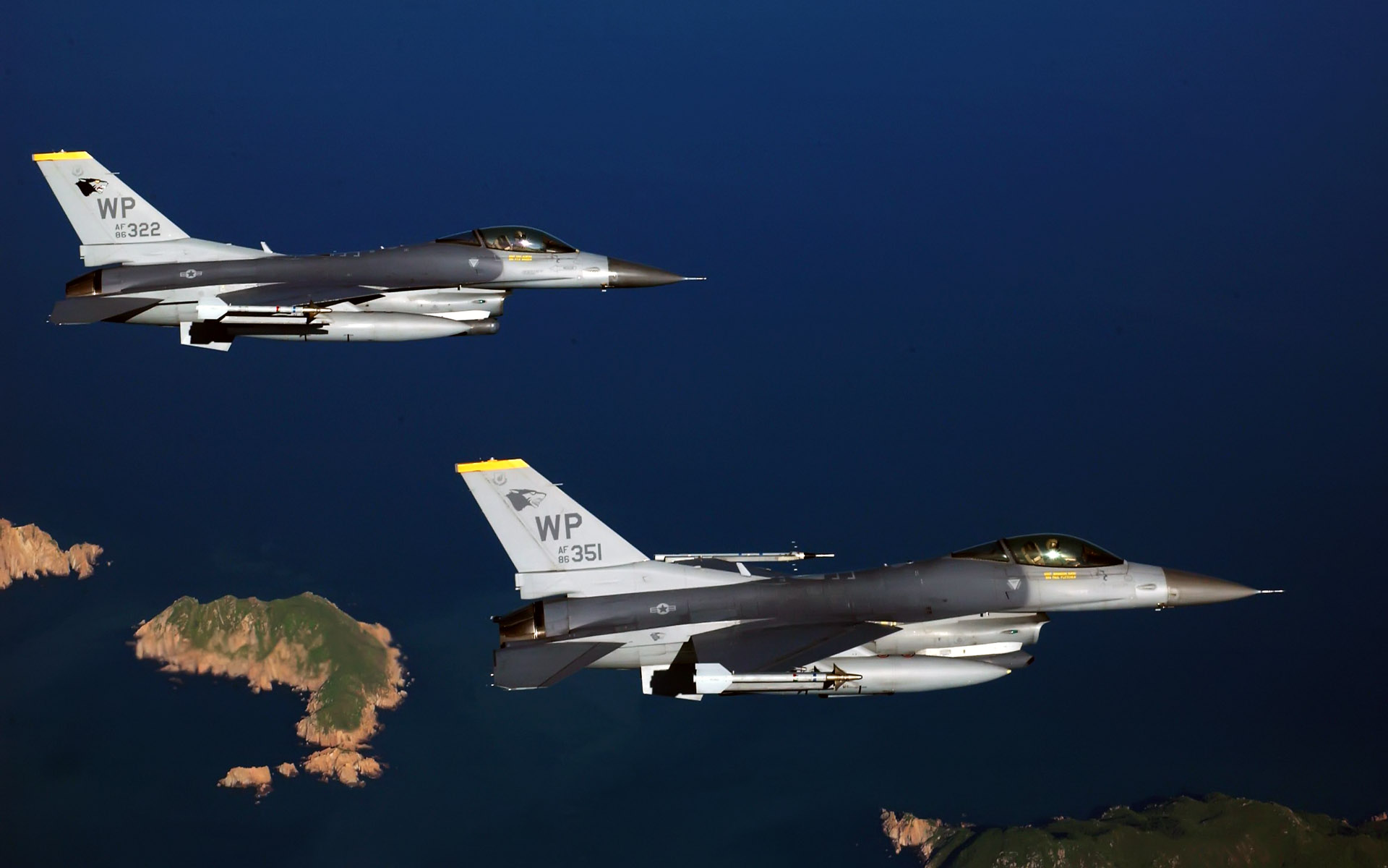 Two F 16 Fighting Falcon Aircrafts4658215595 - Two F 16 Fighting Falcon Aircrafts - Spacy, Fighting, Falcon, Aircrafts