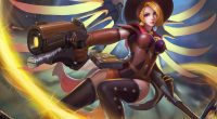 Witch Mercy Overwatch4216513502 200x110 - Witch Mercy Overwatch - Witch, owerwatch mercy art, Overwatch, Mercy