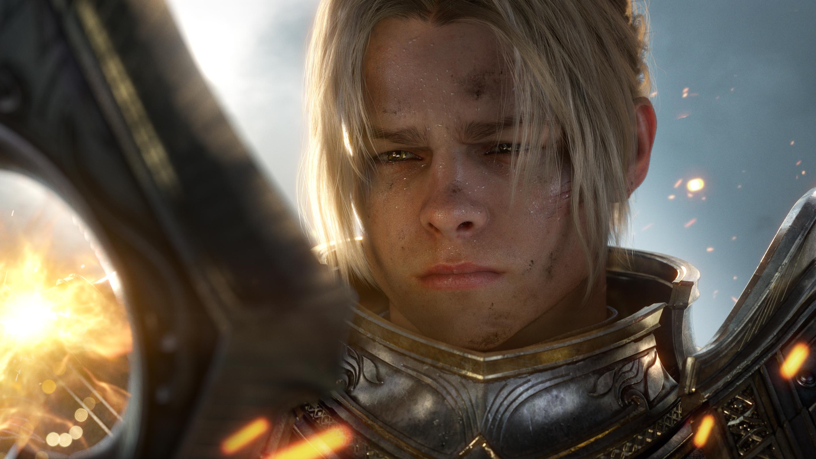 Wallpaper 4k World Of Warcraft Battle For Azeroth Azeroth