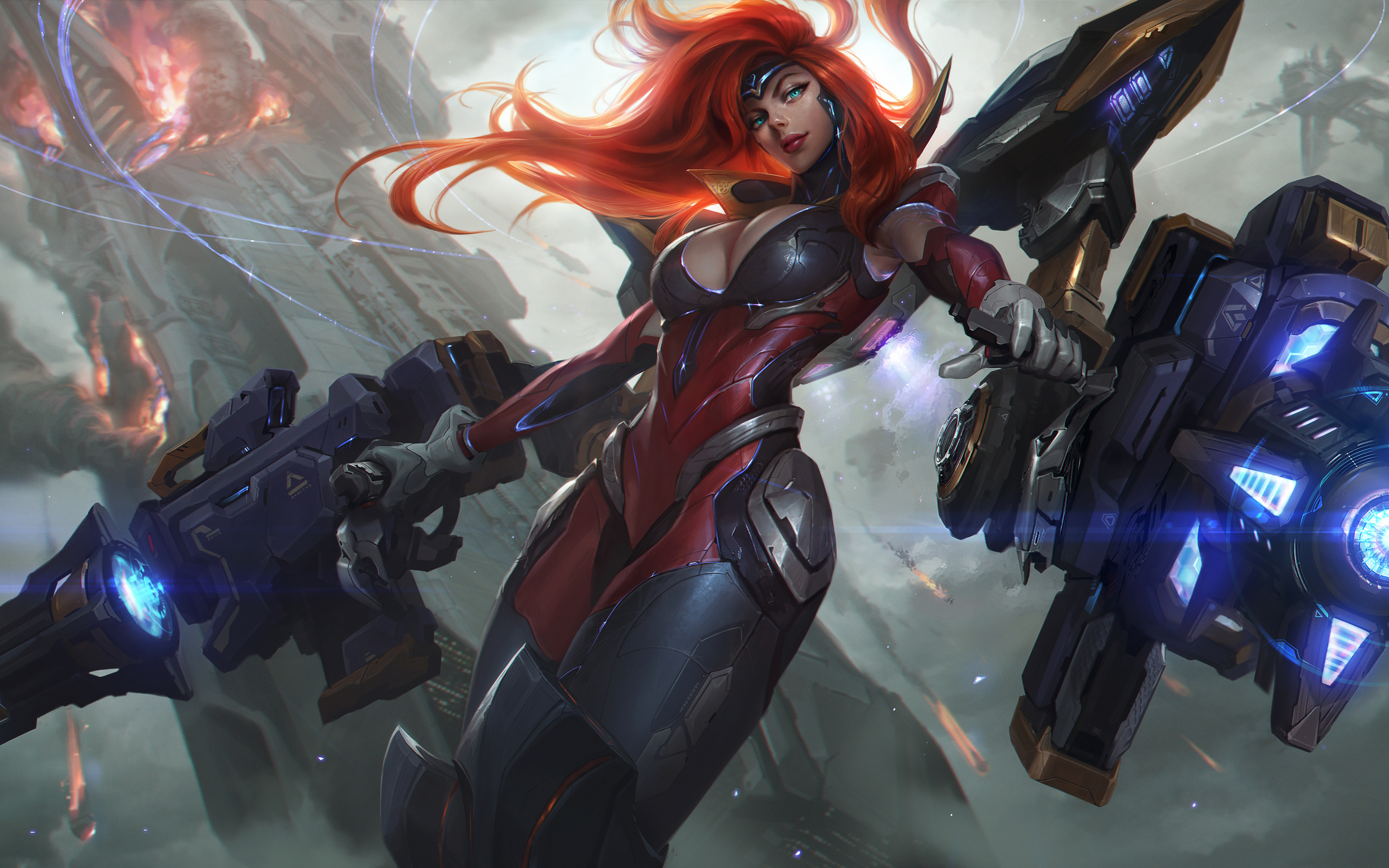 Gun Goddess Miss Fortune League of Legends 5K511509921 - Gun Goddess Miss Fortune League of Legends 5K - Symmetra, Miss, Legends, League, Gun, Goddess, Fortune