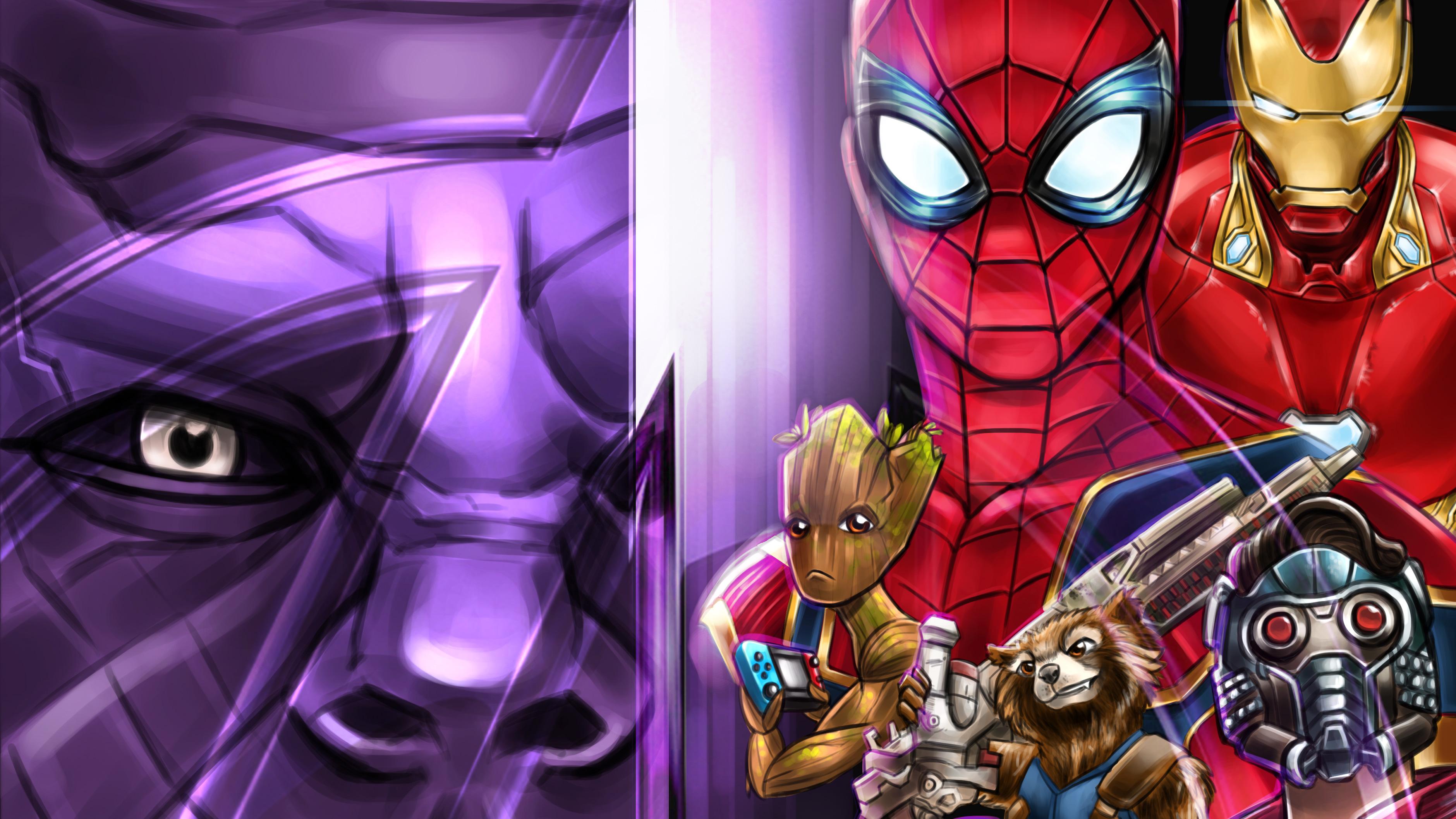 Avengers Infinity War 4k Artwork - Avengers Infinity War 4k Artwork - Wallpapers, 4k
