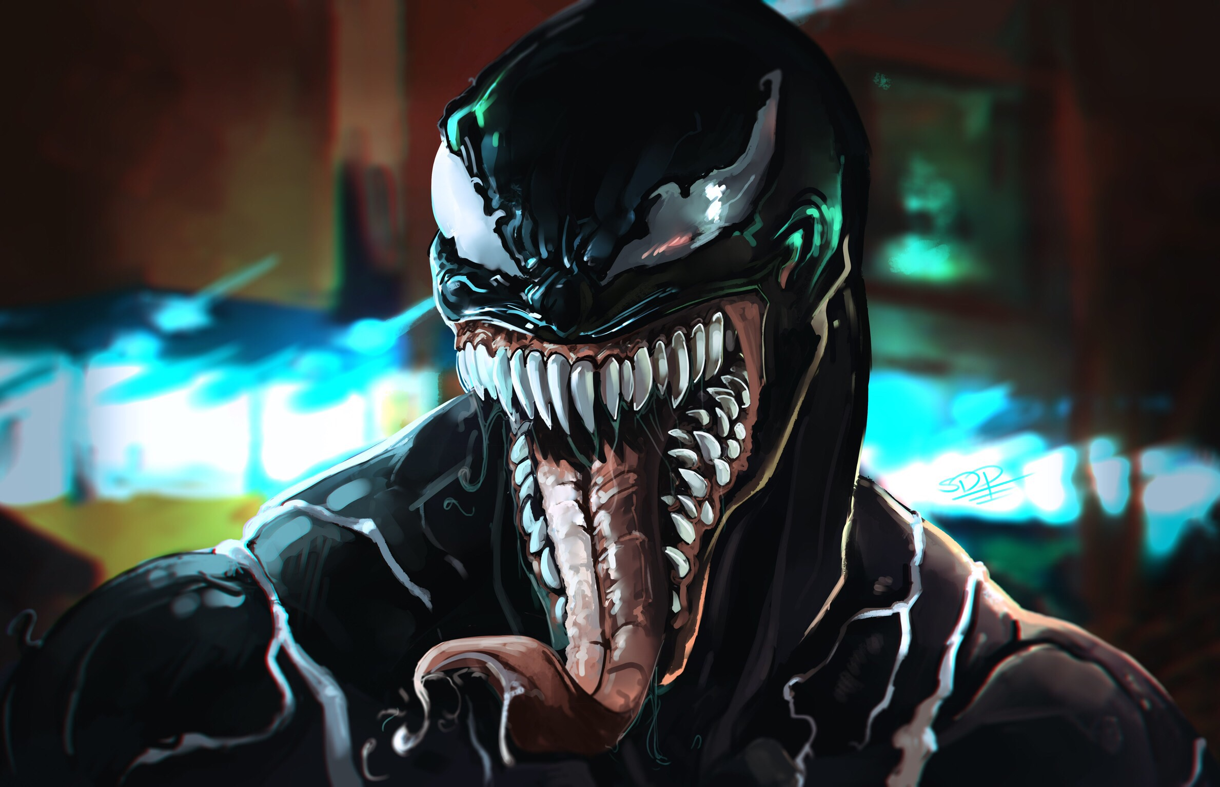Venom Movie Art - Venom Movie Art - Wallpapers, Venom wallpapers, venom artwork, venom 2018 wallpaper, venom, tomy hardy, spiderman infinity war wallpapers, 4k