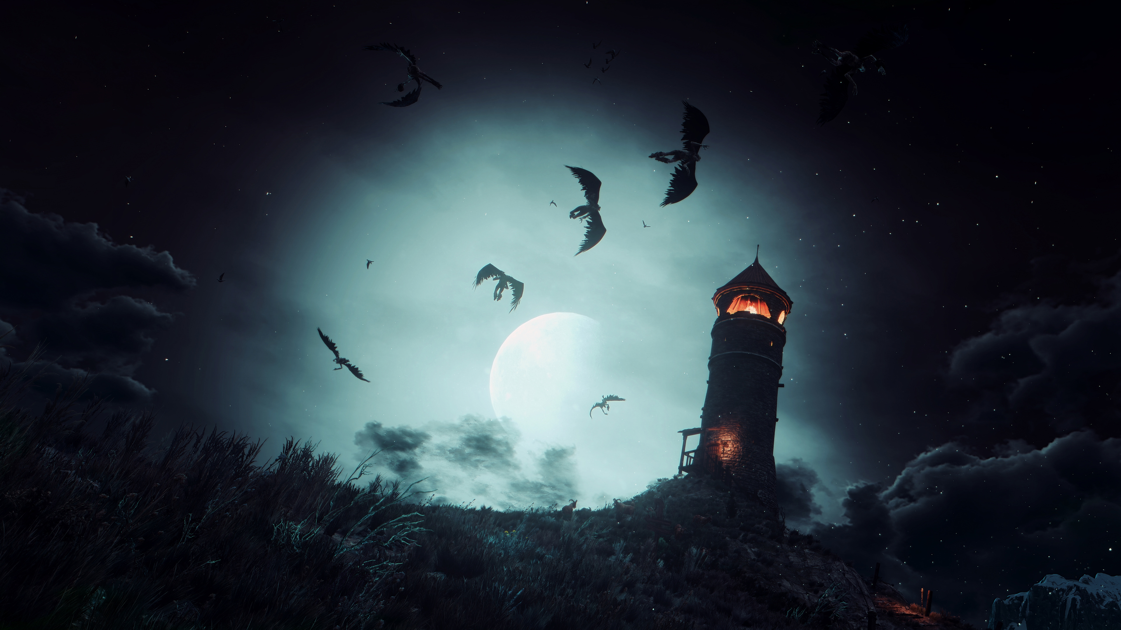 10k the witcher 3 evening moment 1537691574 - 10k The Witcher 3 Evening Moment - xbox games wallpapers, the witcher 3 wallpapers, sword wallpapers, ps4 games wallpapers, pc games wallpapers, hd-wallpapers, games wallpapers, 8k wallpapers, 5k wallpapers, 4k-wallpapers, 10k wallpapers