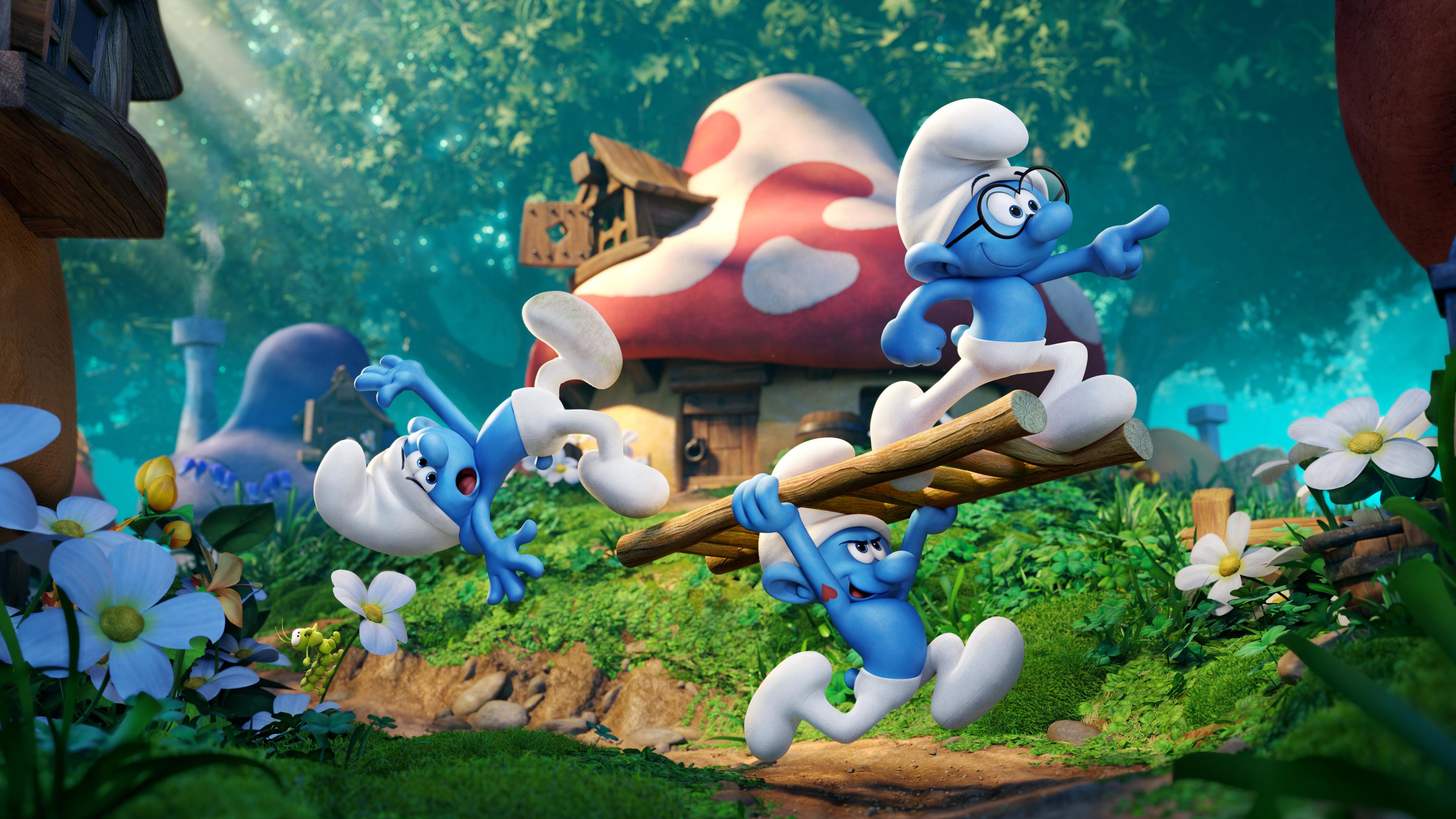 2017 smurfs the lost village 1536400201 - 2017 Smurfs The Lost Village - smurfs wallpapers, smurfs the lost village wallpapers, movies wallpapers, animated movies wallpapers, 4k-wallpapers, 2017 movies wallpapers