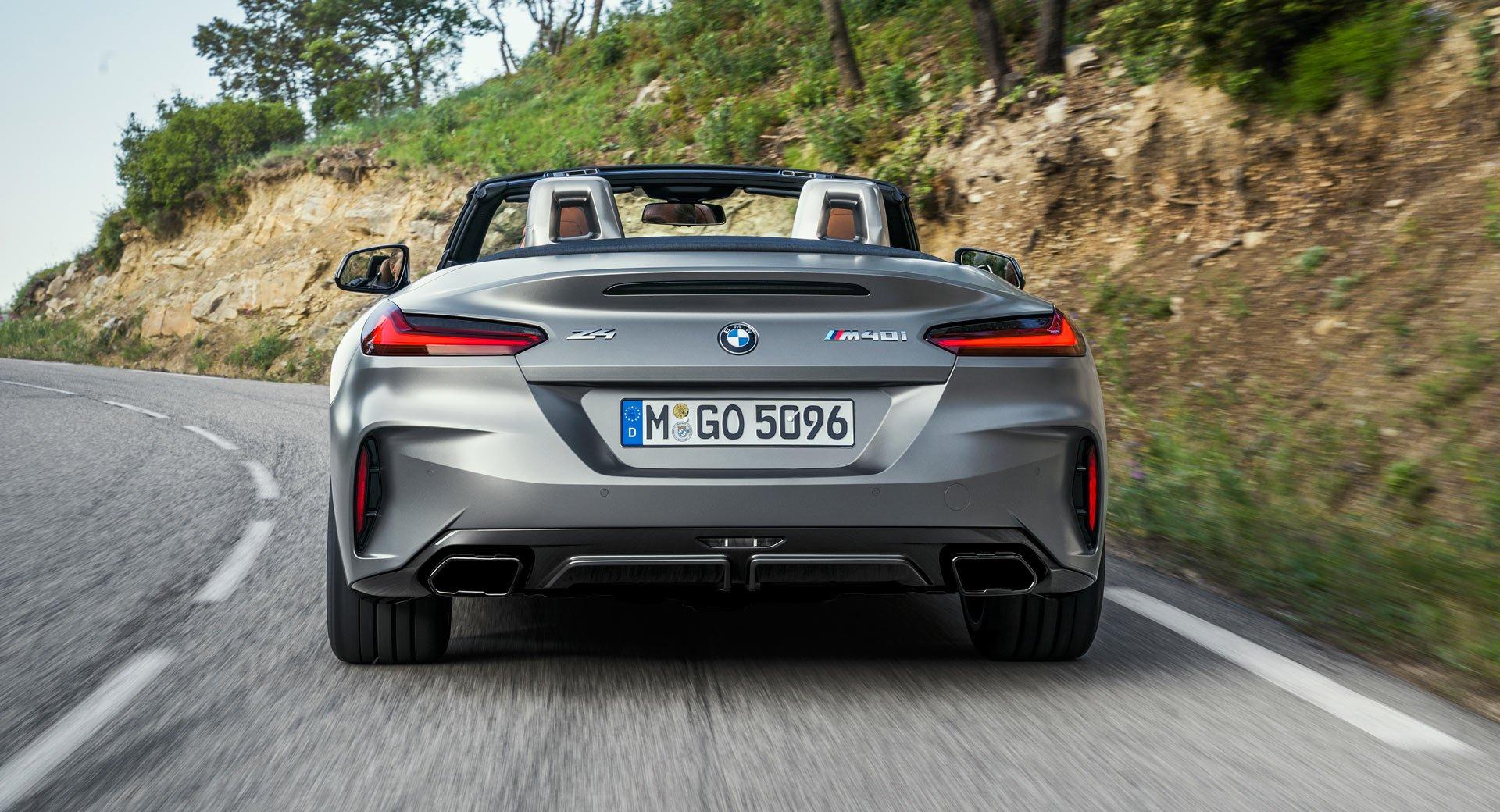 2019 BMW Z4 3 - BMW 2019 Z4 sDrive backside 4k - bmw z4 background, bmw z4 back front wallpapers, bmw 4z back side, bmw 2019 z4 backgraound