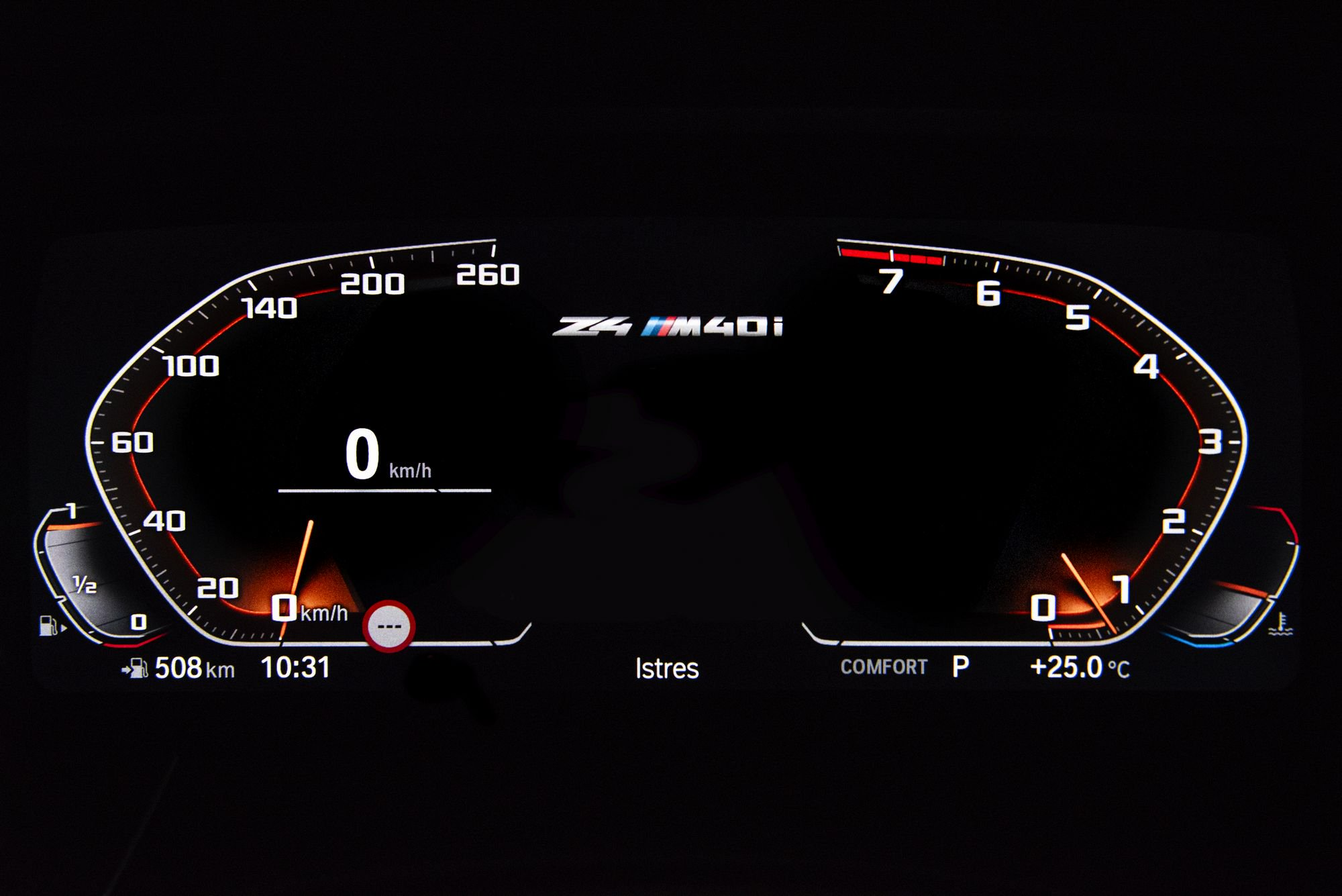 2019 BMW Z4 8 - BMW 2019 Z4 sDrive Dashboard 4k - Z4 sDrive Dashboard 4k, 2019 bmw z4 speed panel