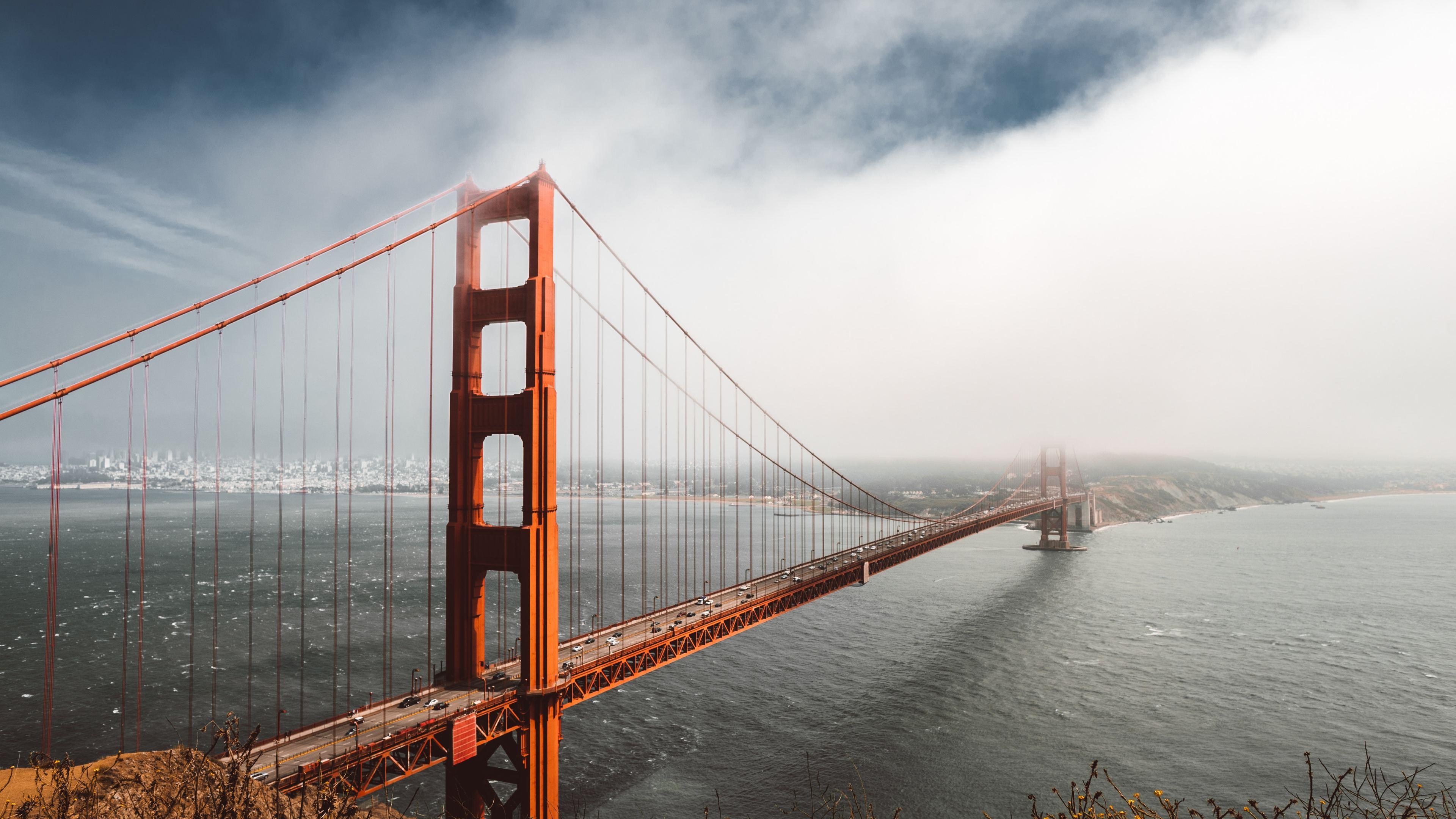 4k golden gate bridge 1538072115 - 4k Golden Gate Bridge - world wallpapers, san francisco wallpapers, hd-wallpapers, golden gate bridge wallpapers, bridge wallpapers, 4k-wallpapers