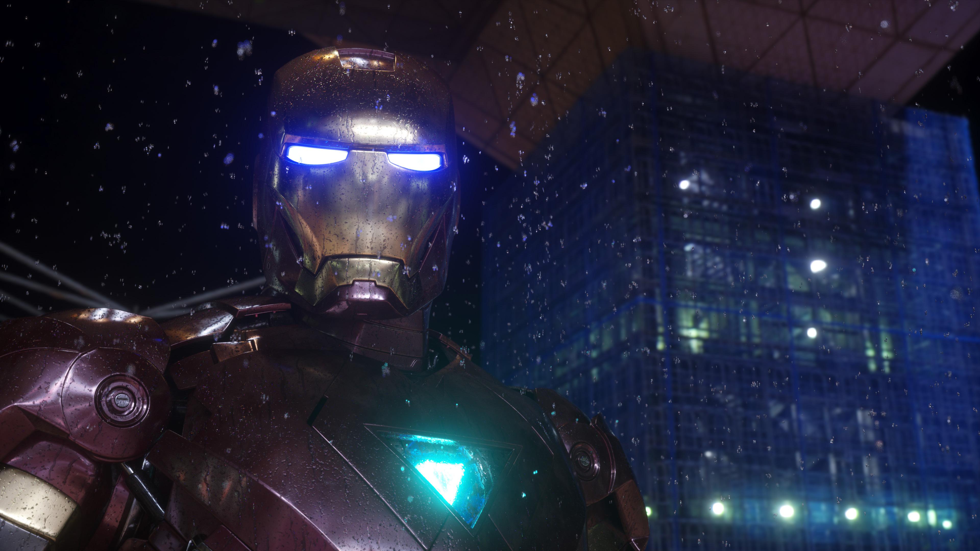 4k iron man 1537645936 - 4K Iron Man - superheroes wallpapers, iron man wallpapers, hd-wallpapers, behance wallpapers, 4k-wallpapers