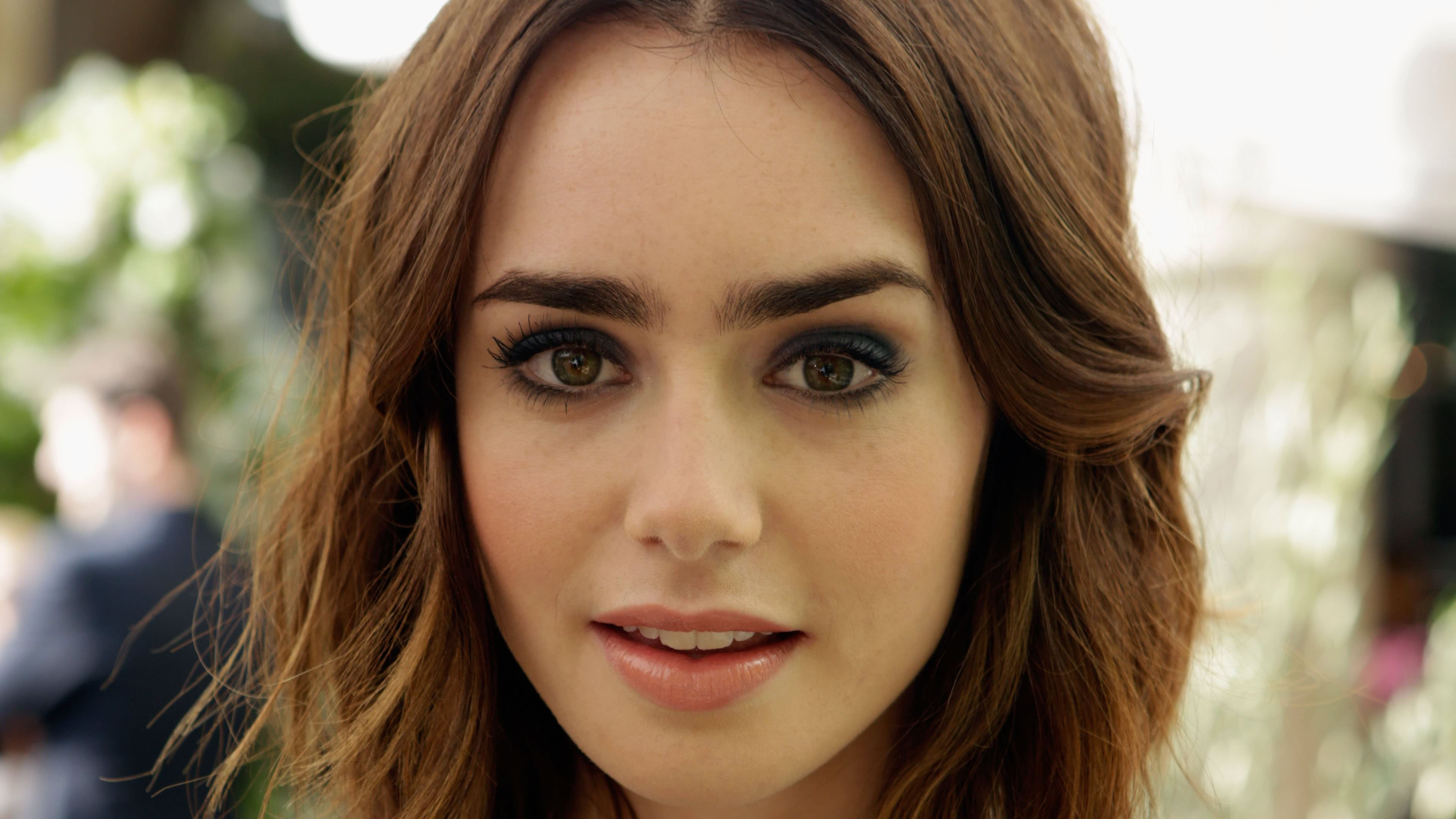 4k lily collins cute 1536863282 - 4k Lily Collins Cute - model wallpapers, lily collins wallpapers, hd-wallpapers, girls wallpapers, celebrities wallpapers, 4k-wallpapers