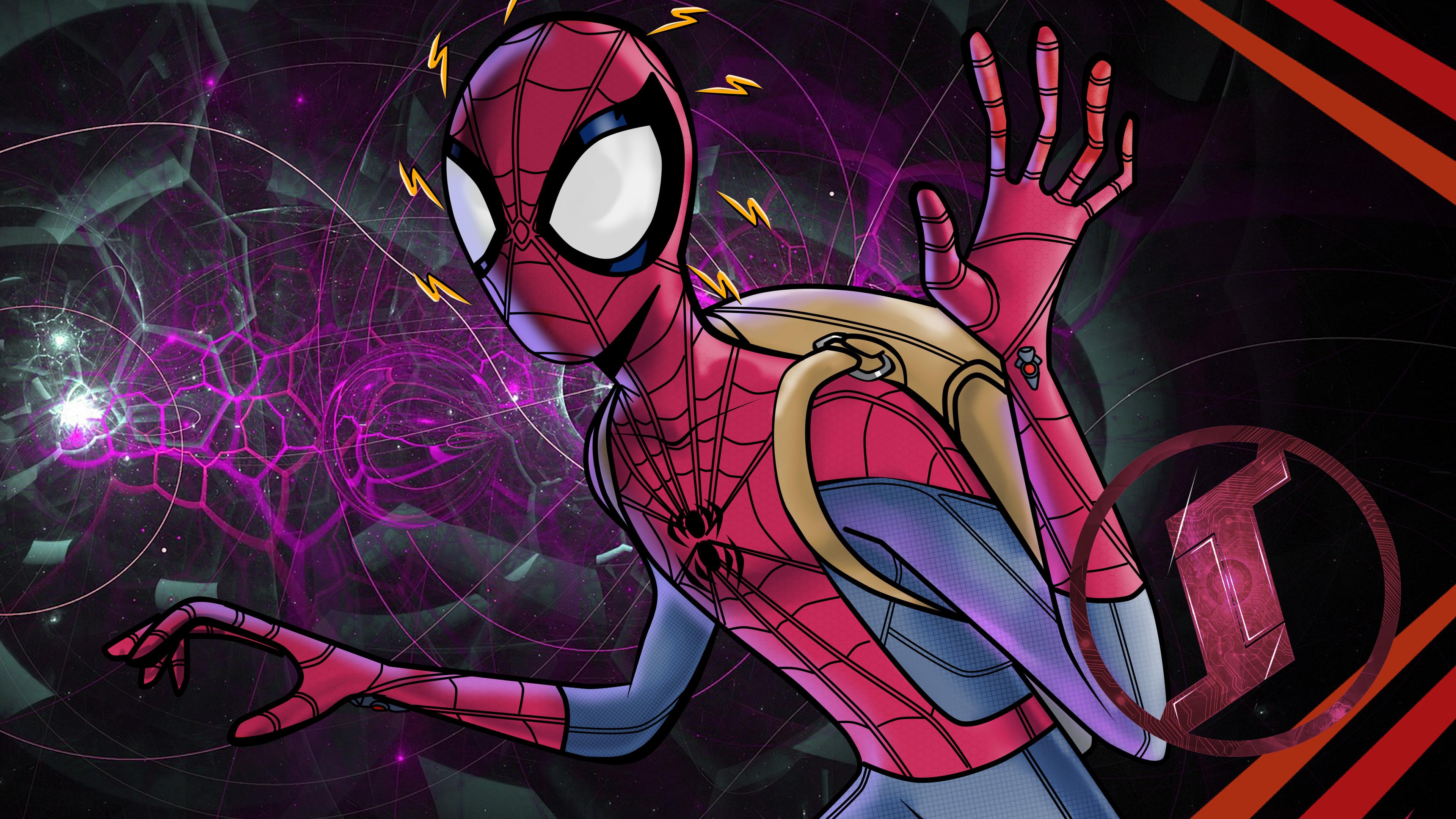 5k spiderman digital art 1536523106 - 5k Spiderman Digital Art - superheroes wallpapers, spiderman wallpapers, hd-wallpapers, digital art wallpapers, deviantart wallpapers, artwork wallpapers, artist wallpapers, 5k wallpapers, 4k-wallpapers