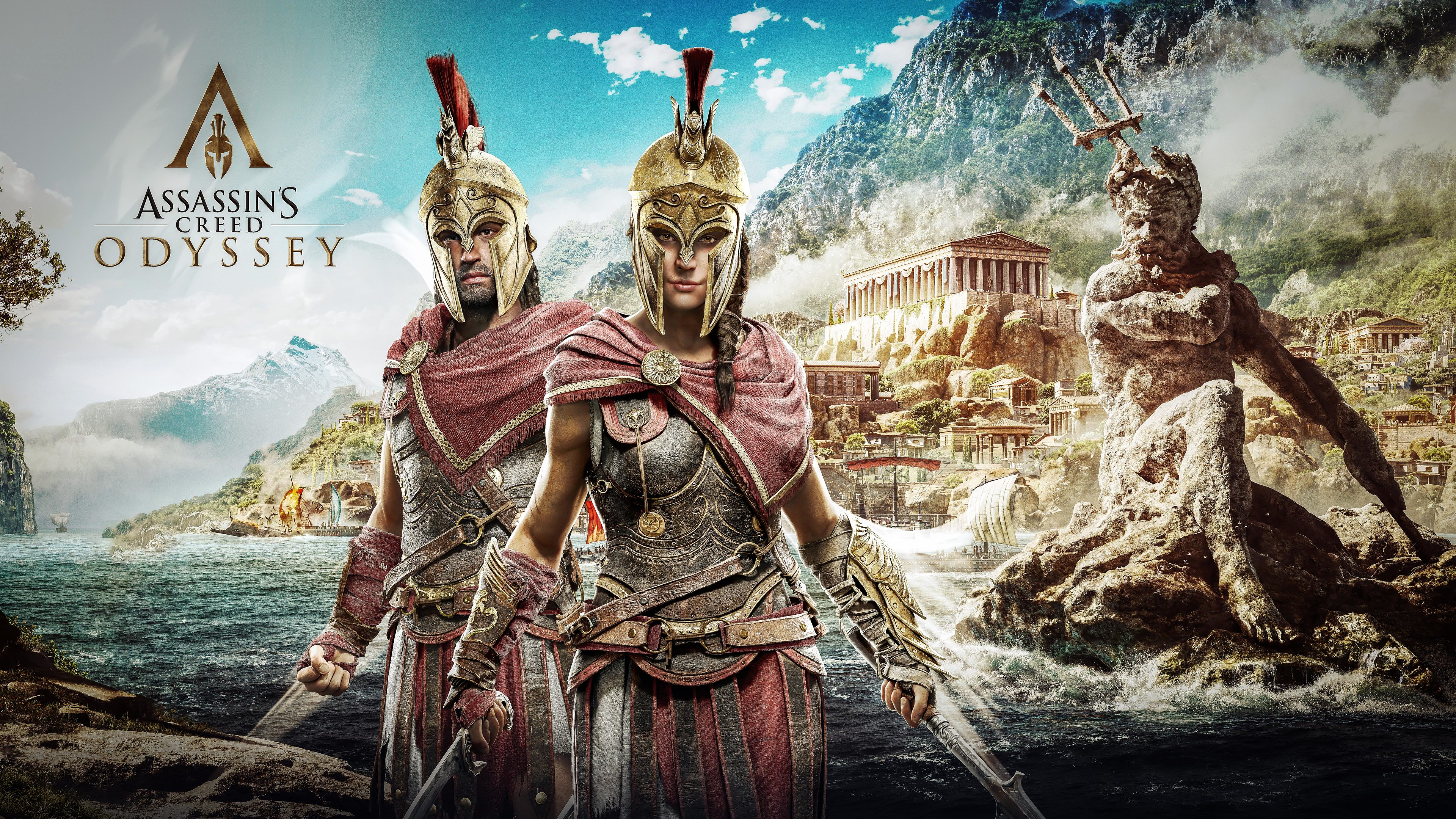 alexios and kassandra assassins creed odyssey 8k 1537691035 - Alexios And Kassandra Assassins Creed Odyssey 8k - hd-wallpapers, games wallpapers, assassins creed wallpapers, assassins creed odyssey wallpapers, 8k wallpapers, 5k wallpapers, 4k-wallpapers, 2018 games wallpapers
