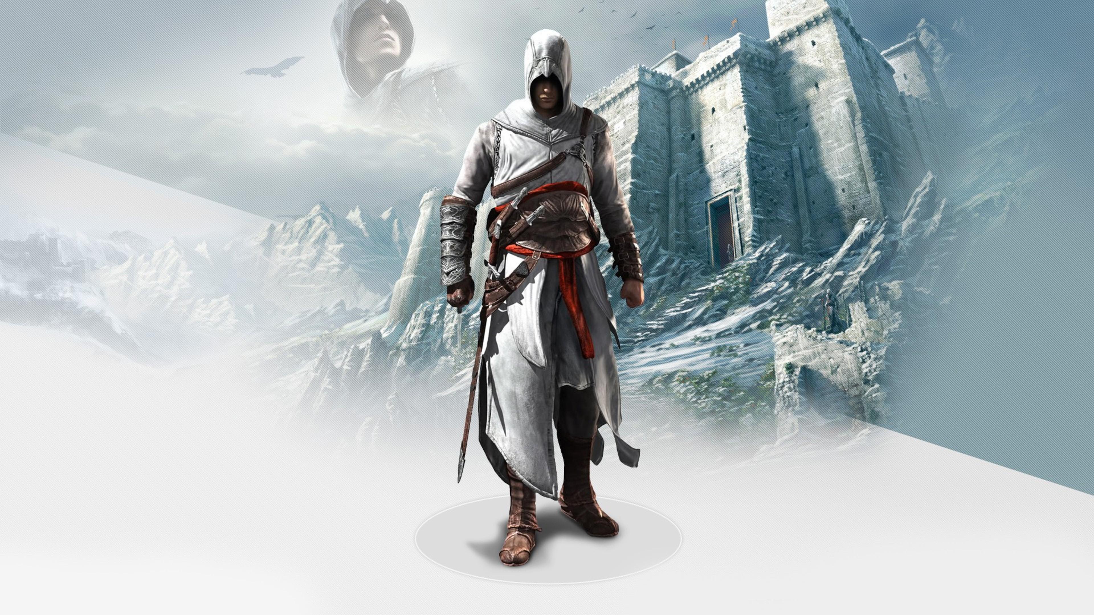 Wallpaper 4k Altair In Assassins Creed 2 4k Assassins Creed
