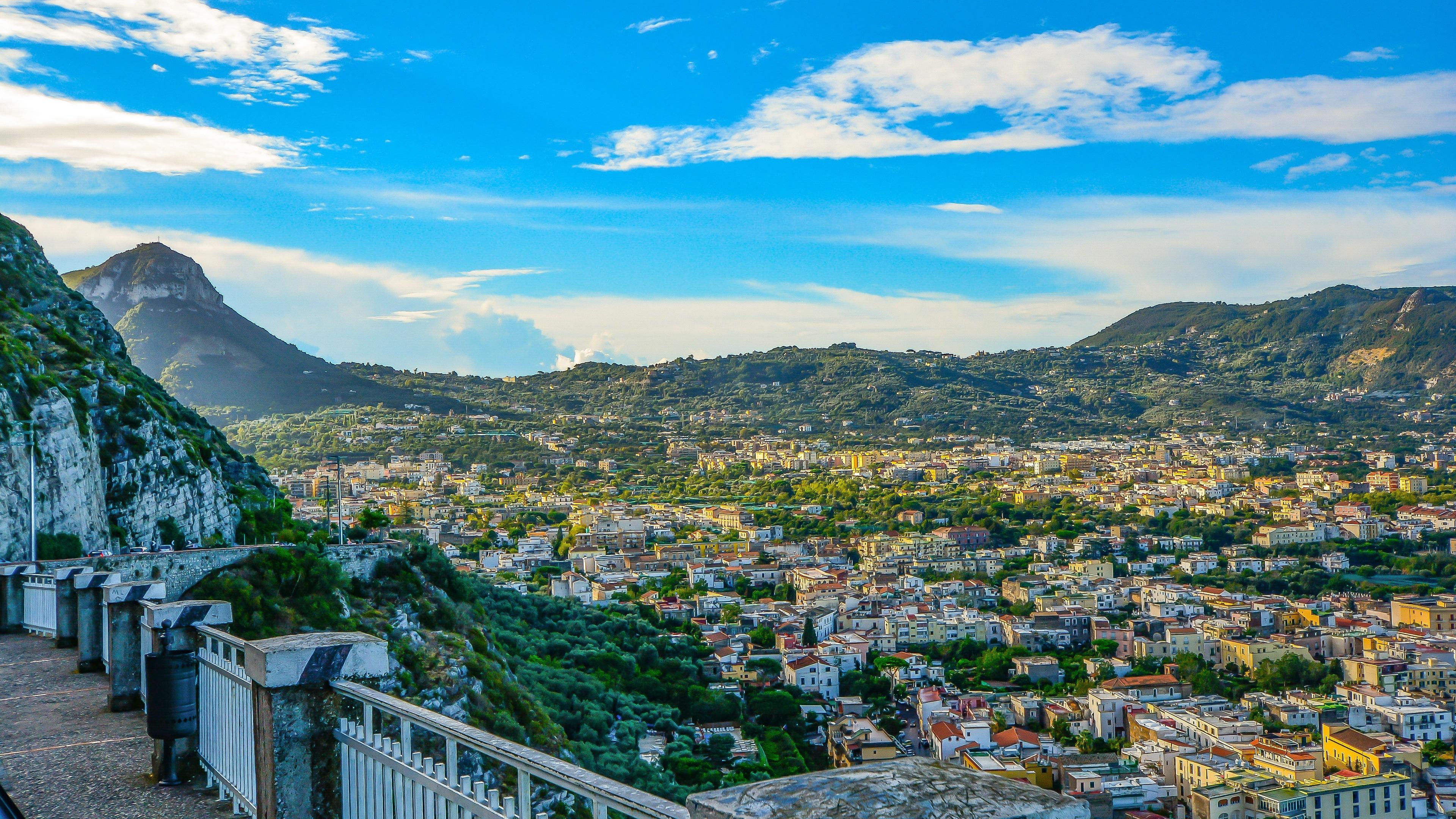 amalfi italy mountains architecture 4k 1538064951 - amalfi, italy, mountains, architecture 4k - Mountains, Italy, amalfi