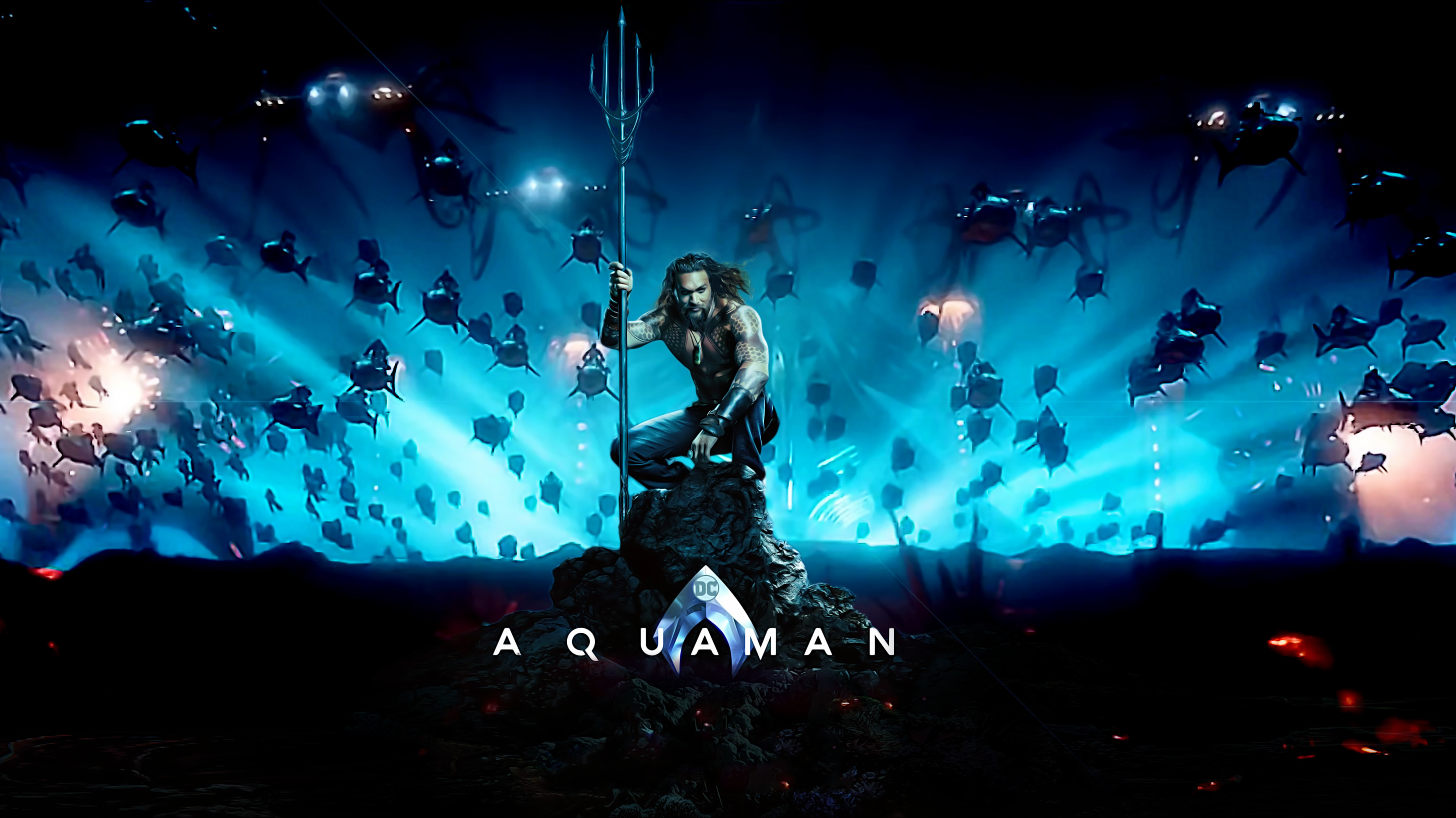 2048x2048 Mera Aquaman Movie Poster Ipad Air Hd 4k: Aquaman Movie Poster Movies Wallpapers, Jason Momoa