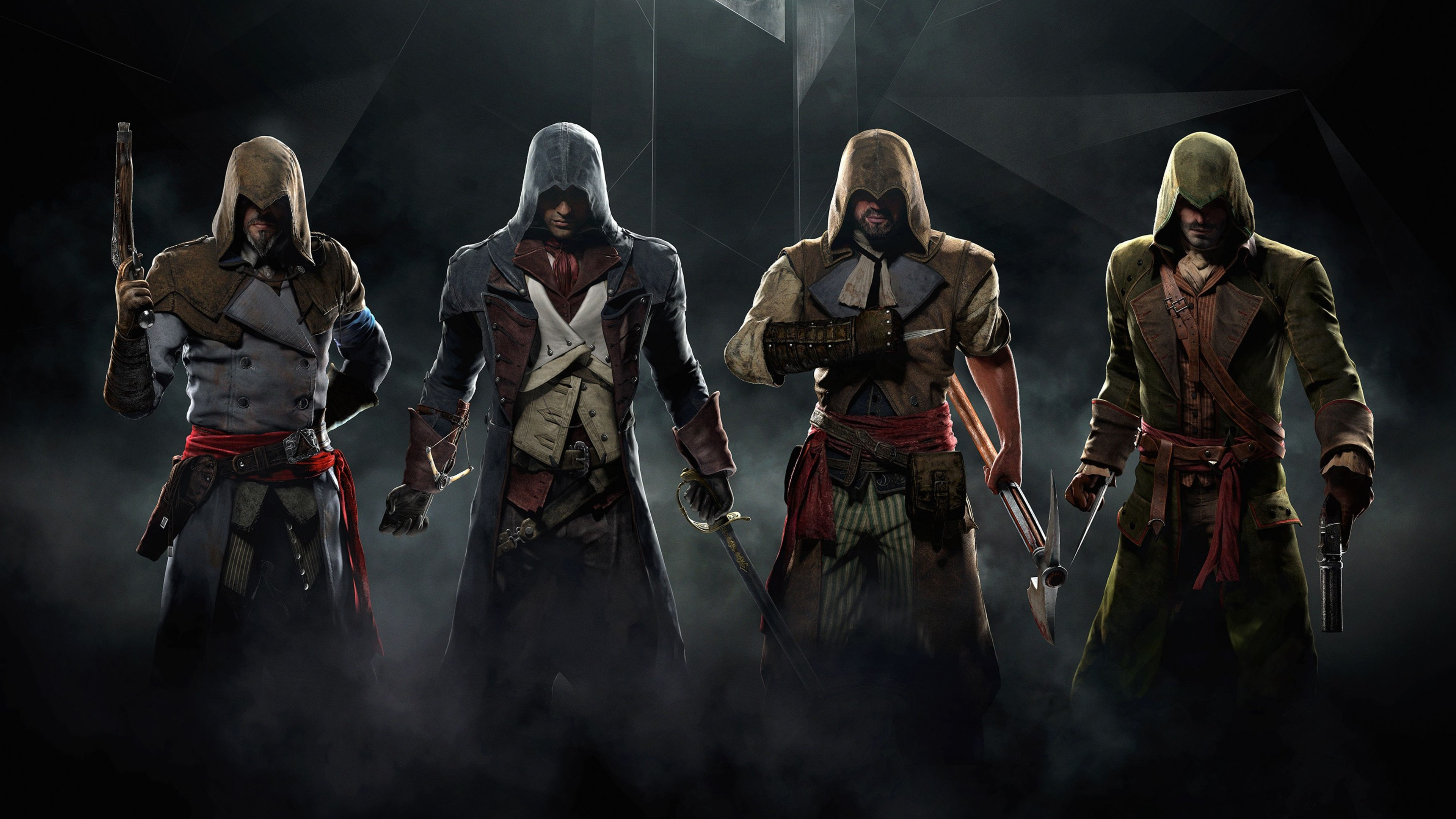 ultra hd assassins creed unity wallpaper