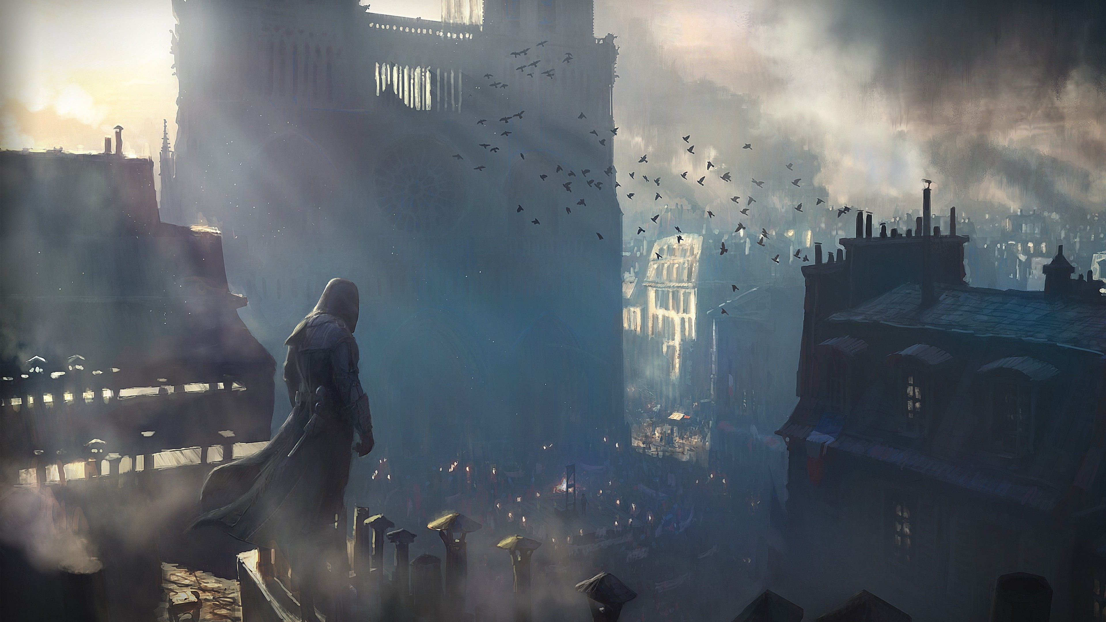 Wallpaper 4k Assassins Creed Unity Game Assassins Creed