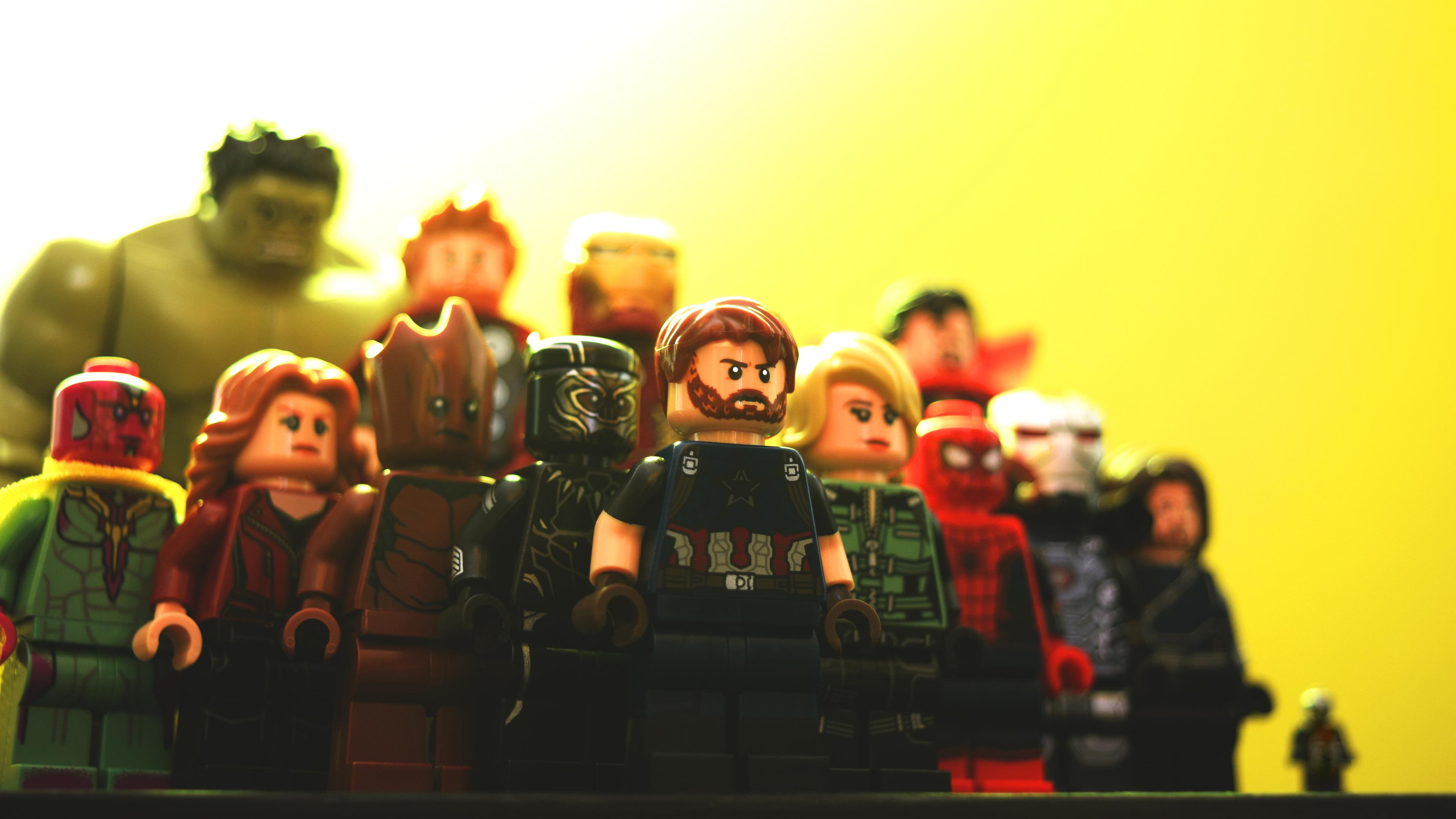 Wallpaper 4k Avengers Infinity War Lego Art 4k Wallpapers 5k