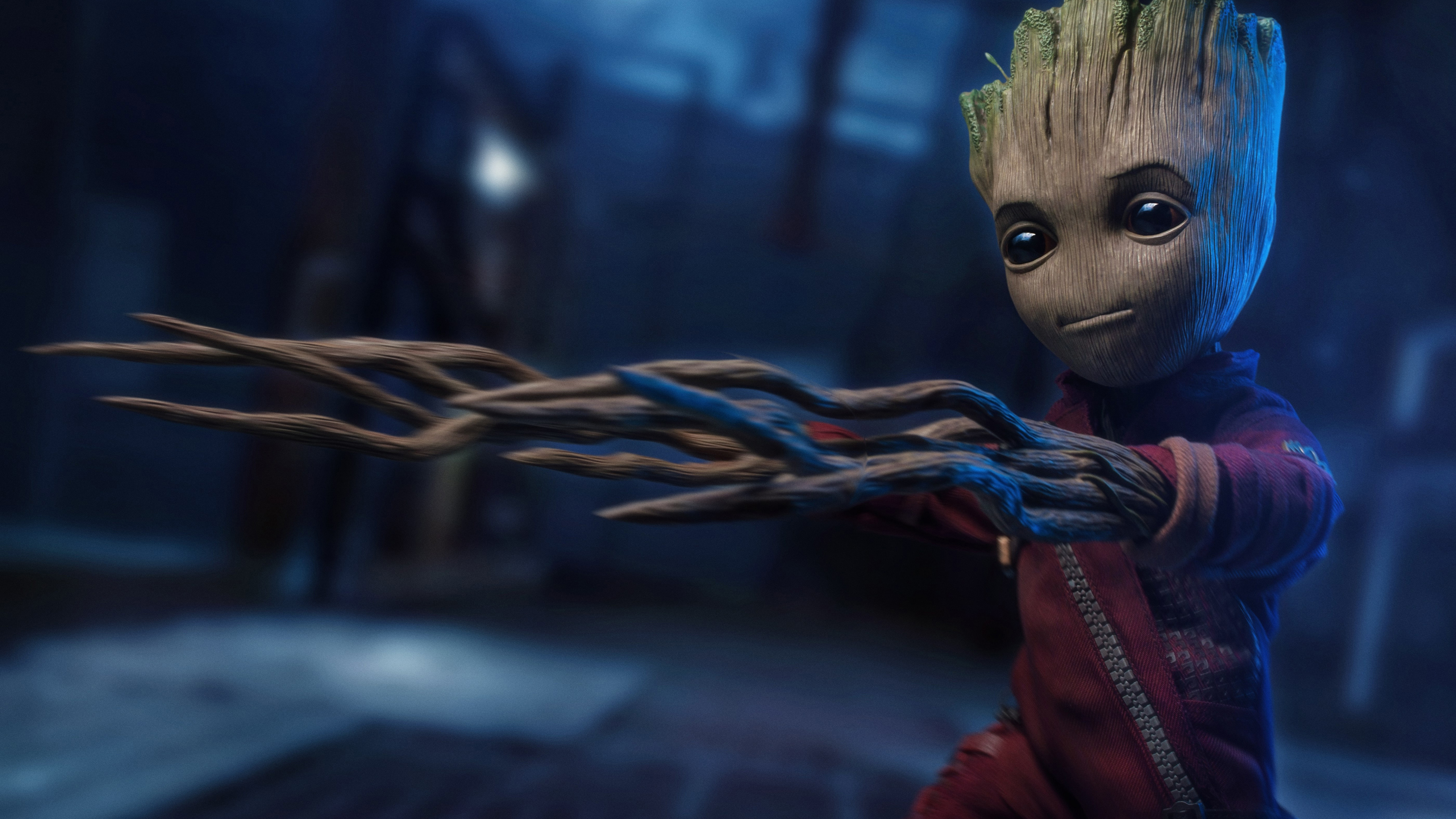 baby groot 5k 2018 1537646044 - Baby Groot 5k 2018 - superheroes wallpapers, hd-wallpapers, groot wallpapers, baby groot wallpapers, 5k wallpapers, 4k-wallpapers