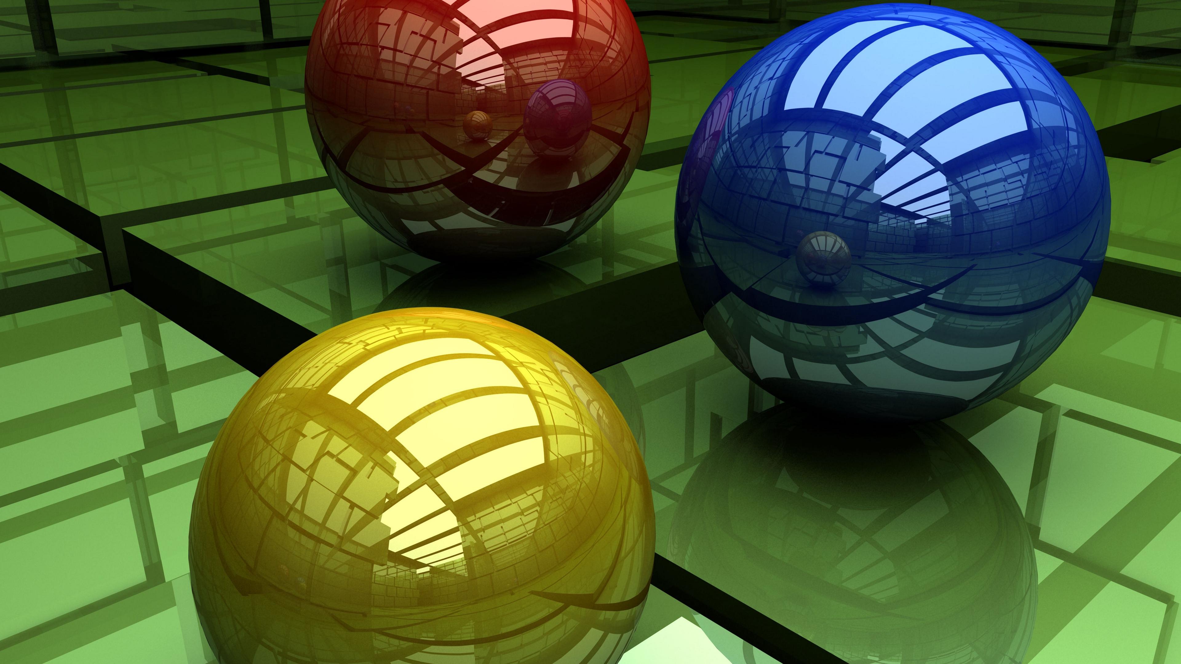 balls three colored surface cubic 4k 1536854838 - balls, three-colored, surface, cubic 4k - three-colored, Surface, Balls