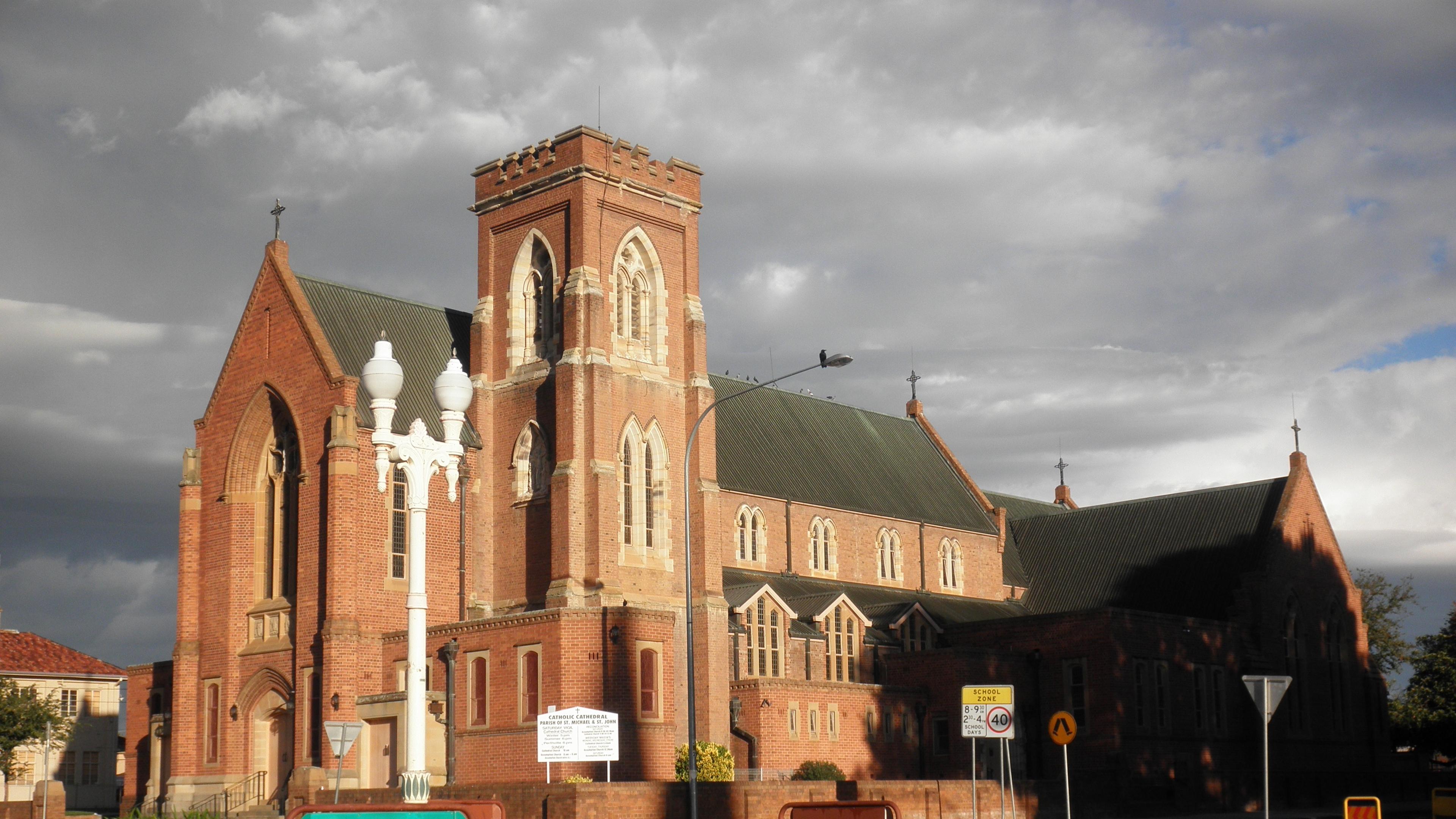 bathurst church city building 4k 1538064956 - bathurst, church, city, building 4k - City, Church, bathurst