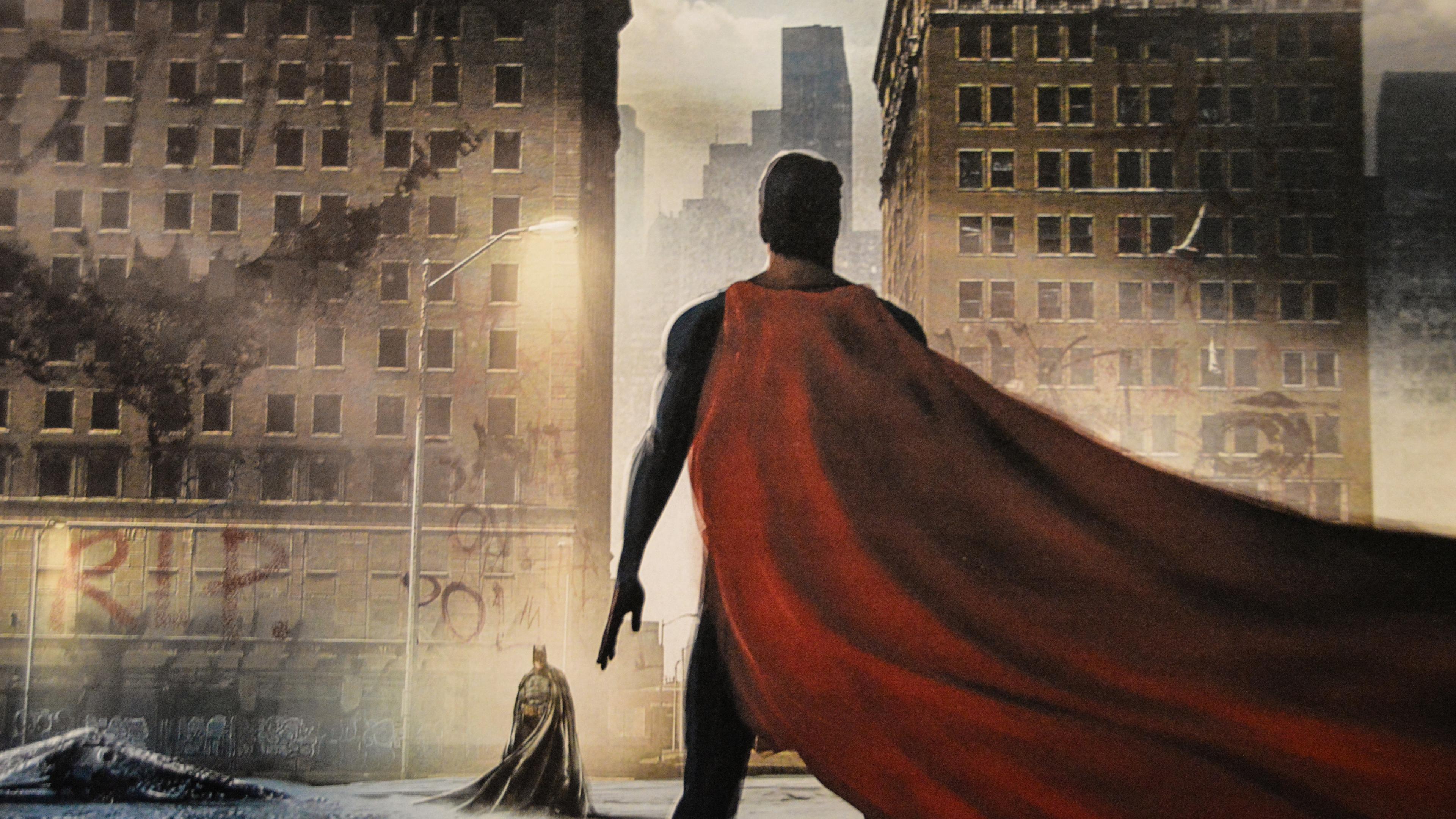 batman vs superman painting 5k 1537646042 - Batman Vs Superman Painting 5k - superman wallpapers, superheroes wallpapers, painting wallpapers, hd-wallpapers, batman wallpapers, 5k wallpapers, 4k-wallpapers