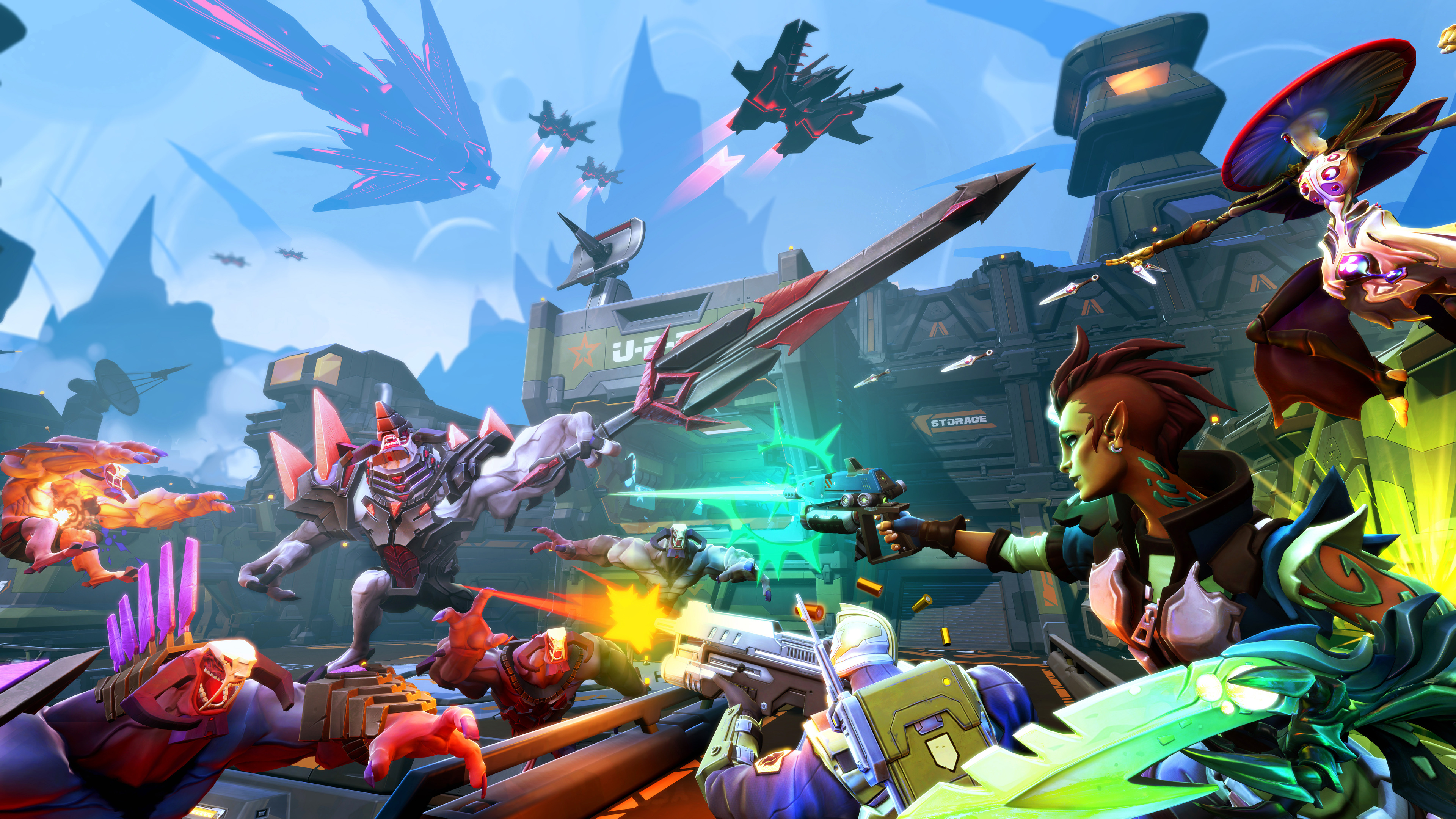 battleborn game 4k 1537691286 - Battleborn Game 4k - xbox games wallpapers, ps games wallpapers, pc games wallpapers, games wallpapers, battleborn wallpapers