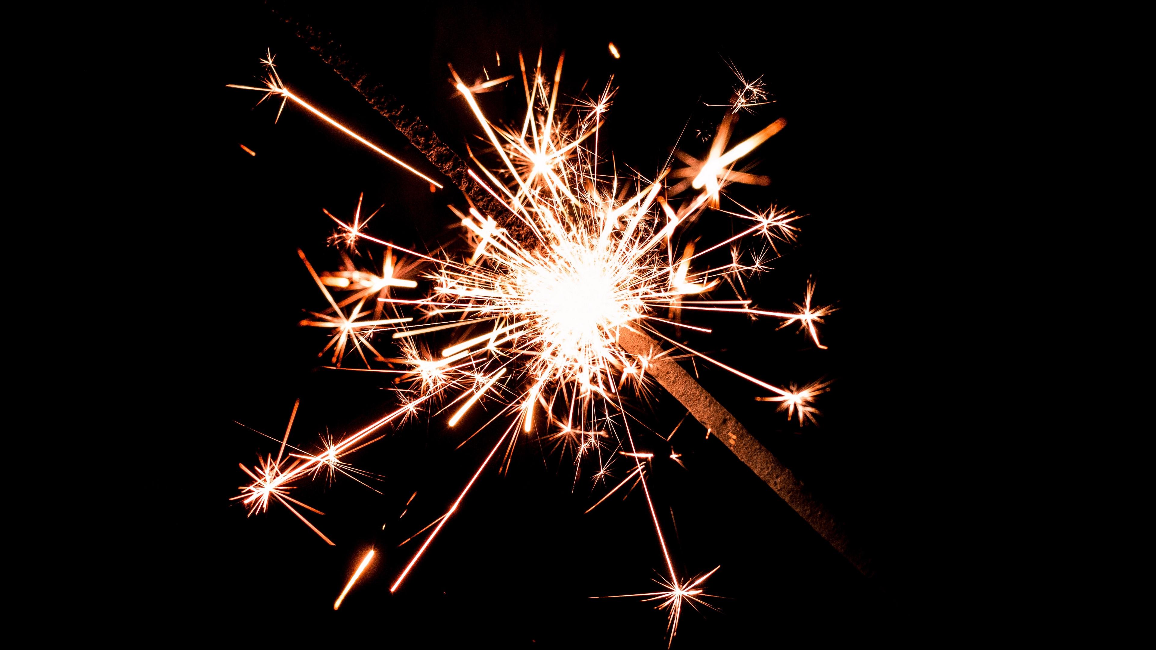 bengal fire sparks dark background shine 4k 1538344936 - bengal fire, sparks, dark background, shine 4k - Sparks, dark background, bengal fire