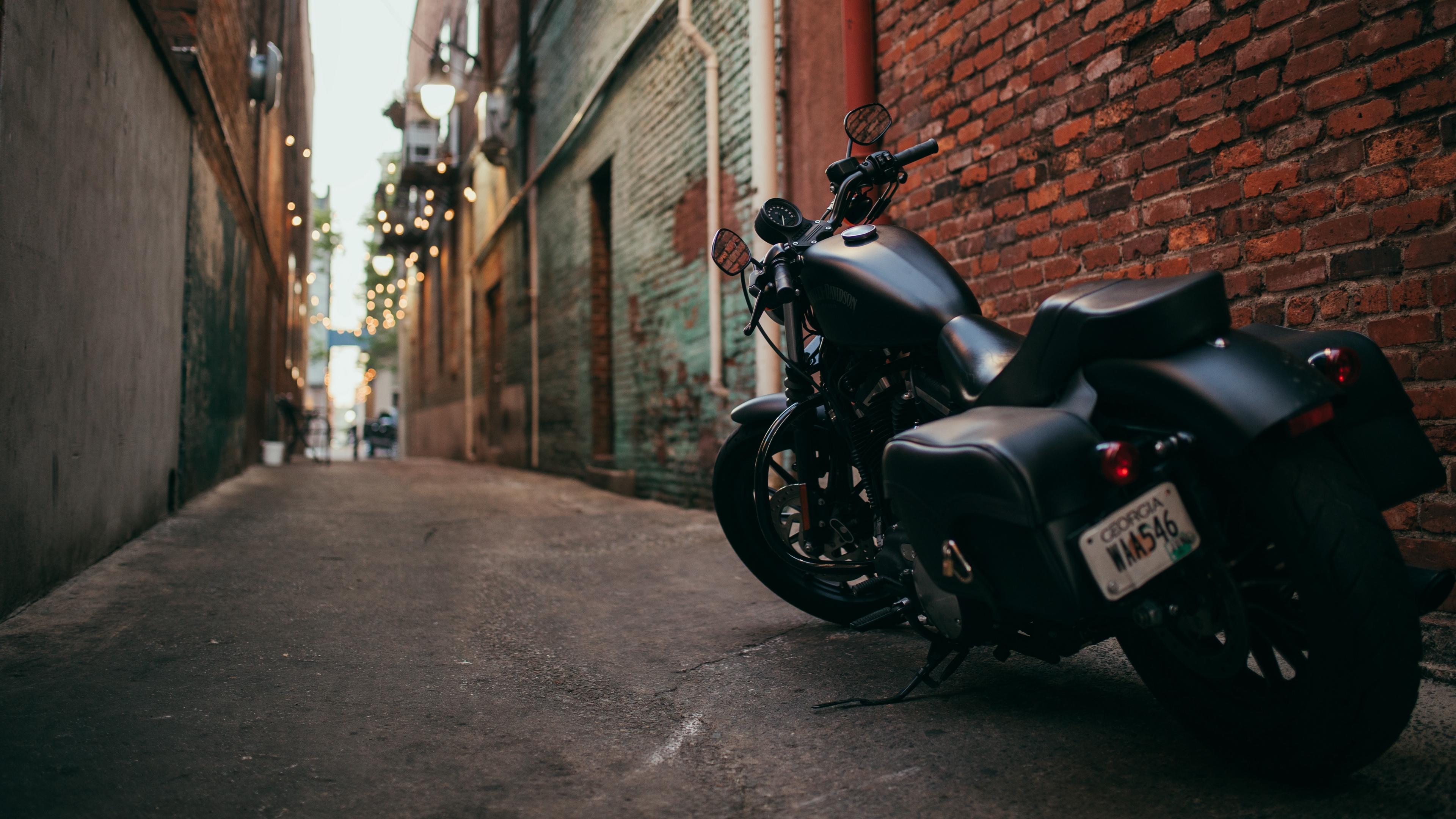 bike motorcycle side view yard 4k 1536018947 - bike, motorcycle, side view, yard 4k - side view, Motorcycle, Bike