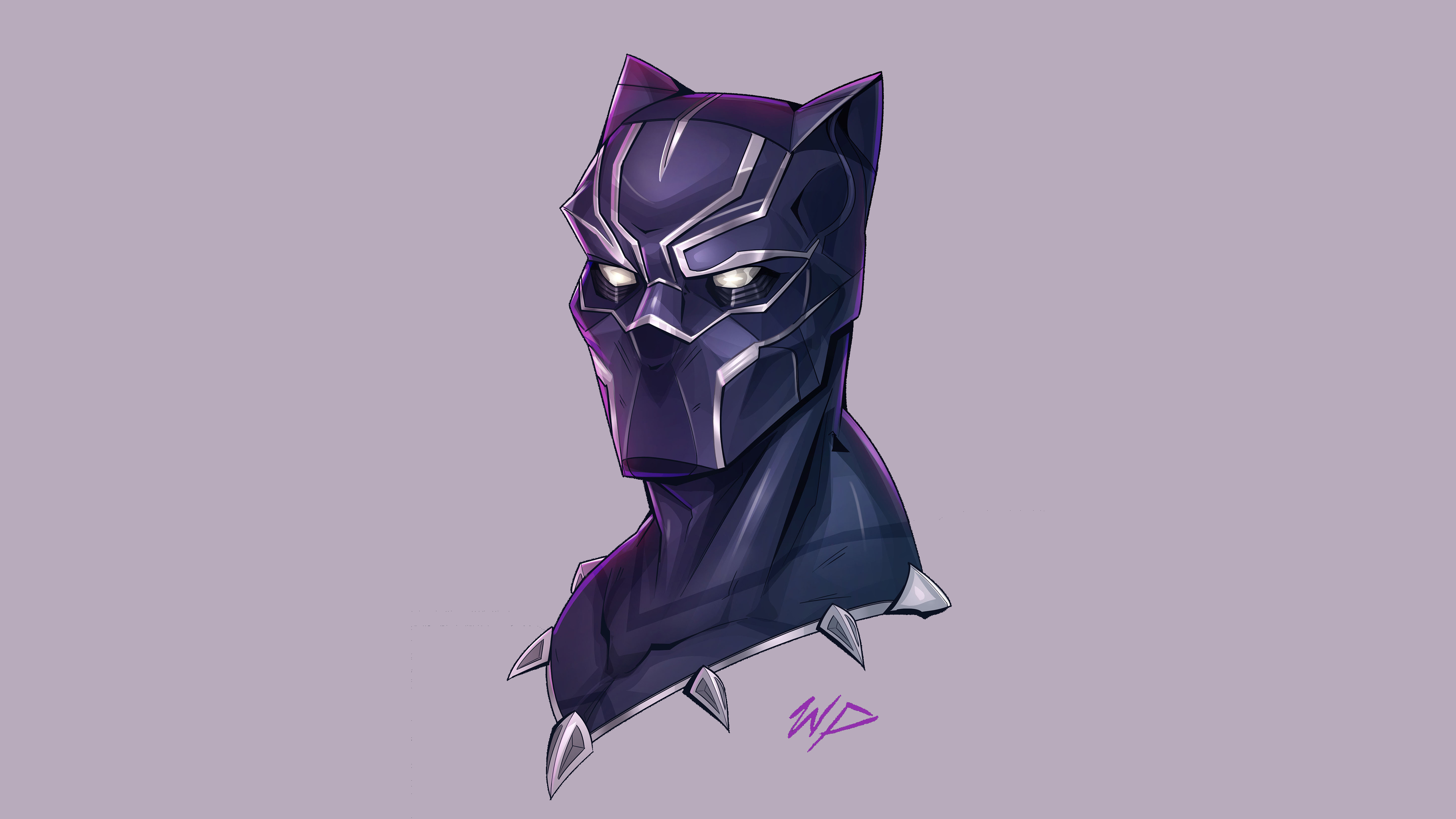 Wallpaper 4k Black Panther Headshot Minimalism 4k Wallpapers Artist Wallpapers Artwork Wallpapers Black Panther Wallpapers Deviantart Wallpapers Digital Art Wallpapers Hd Wallpapers Minimalism Wallpapers