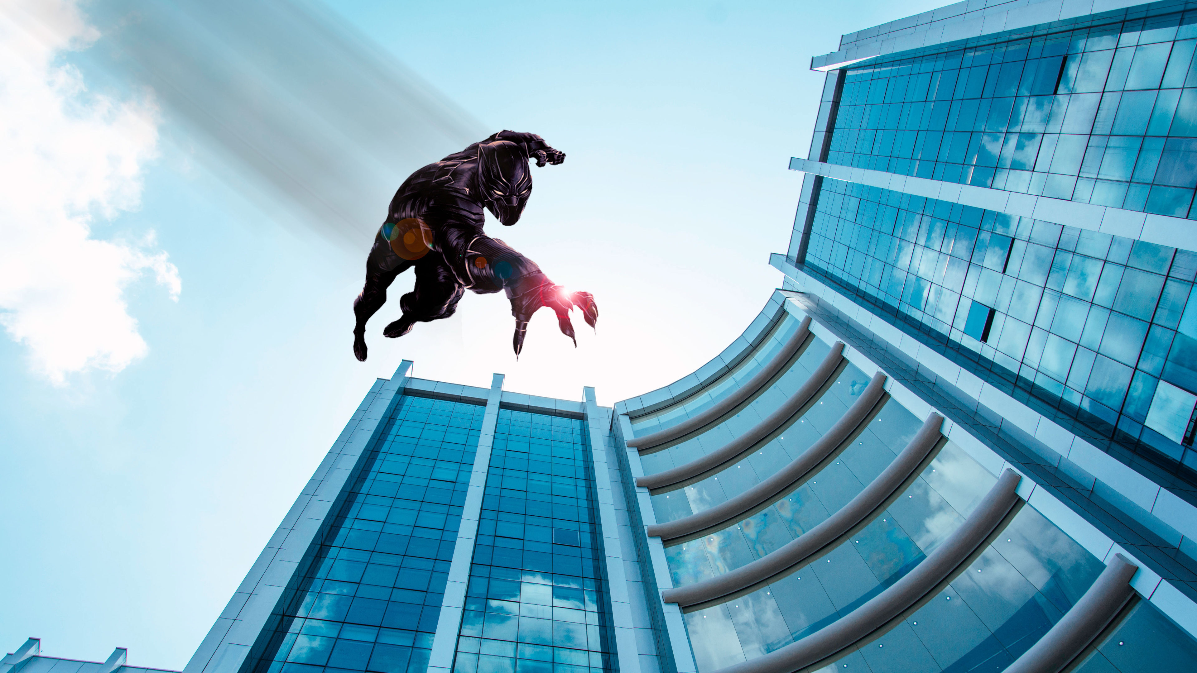 black panther jumping from the building 1536523868 - Black Panther Jumping From The Building - superheroes wallpapers, hd-wallpapers, black panther wallpapers, 5k wallpapers, 4k-wallpapers