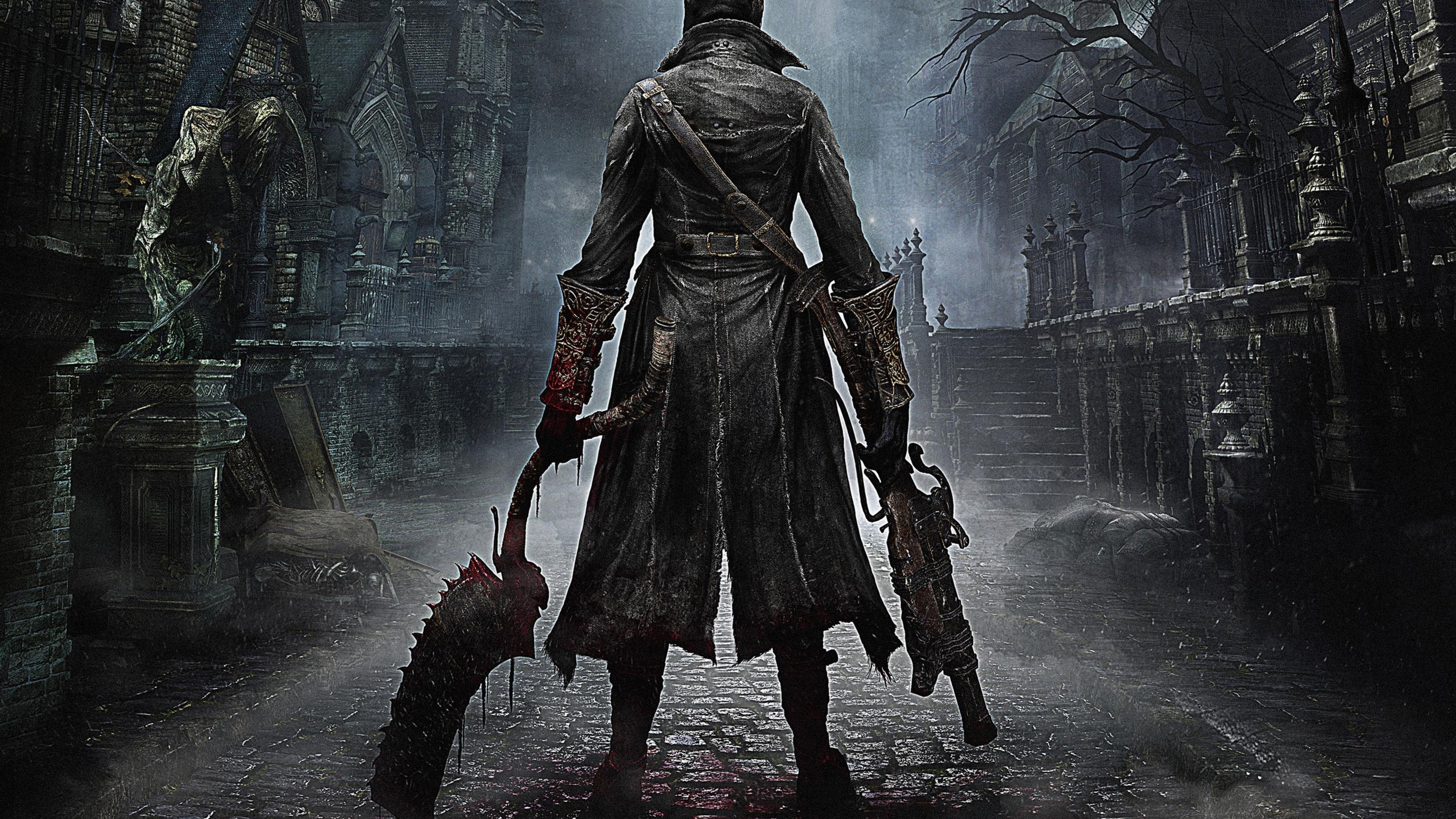 Wallpaper 4k Bloodborne Ps4 Game Games Wallpapers Ps Games Wallpapers