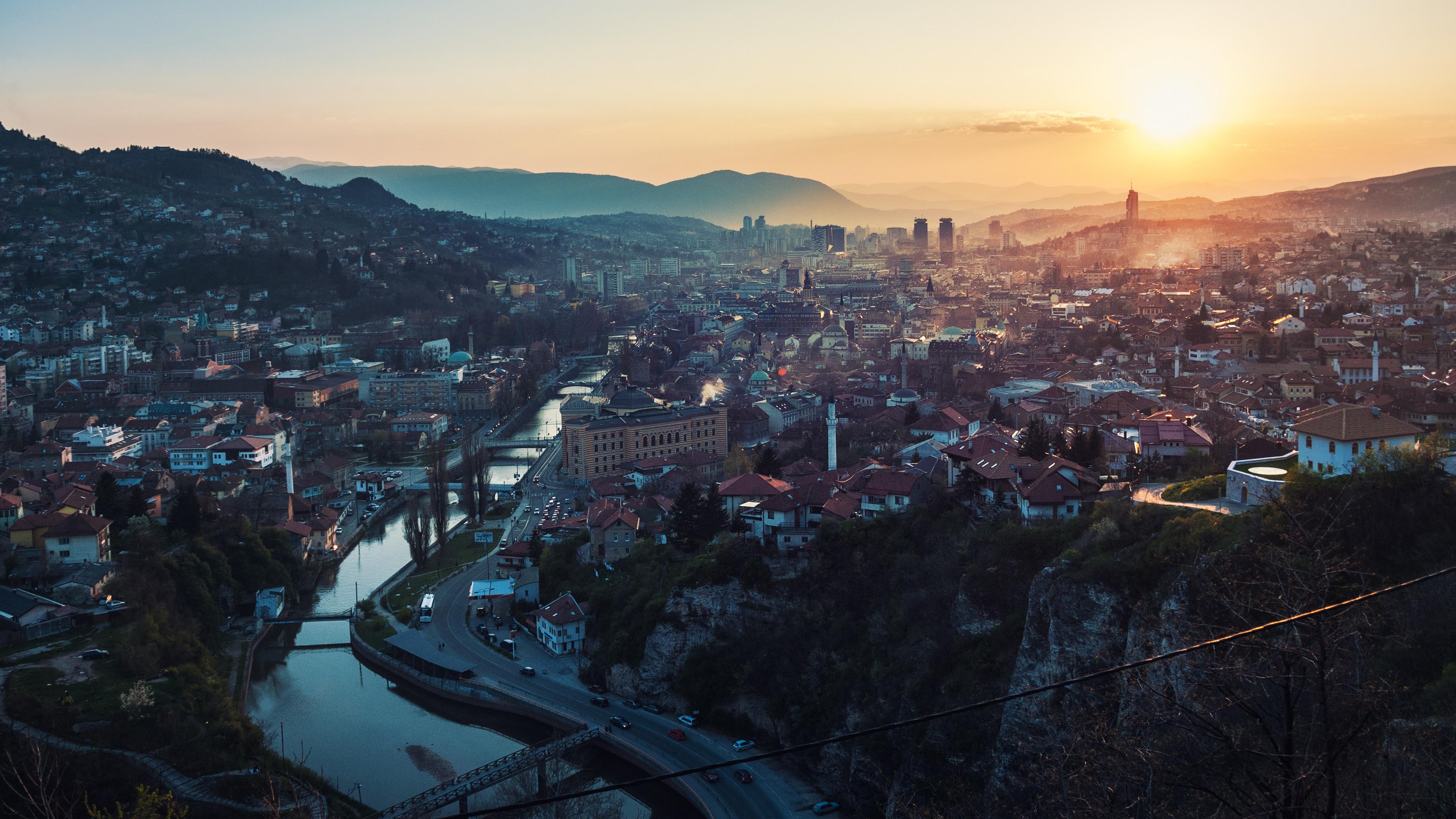 bosnia and herzegovina city 4k 1538069548 - Bosnia And Herzegovina City 4k - world wallpapers, photography wallpapers, hd-wallpapers, city wallpapers, 4k-wallpapers