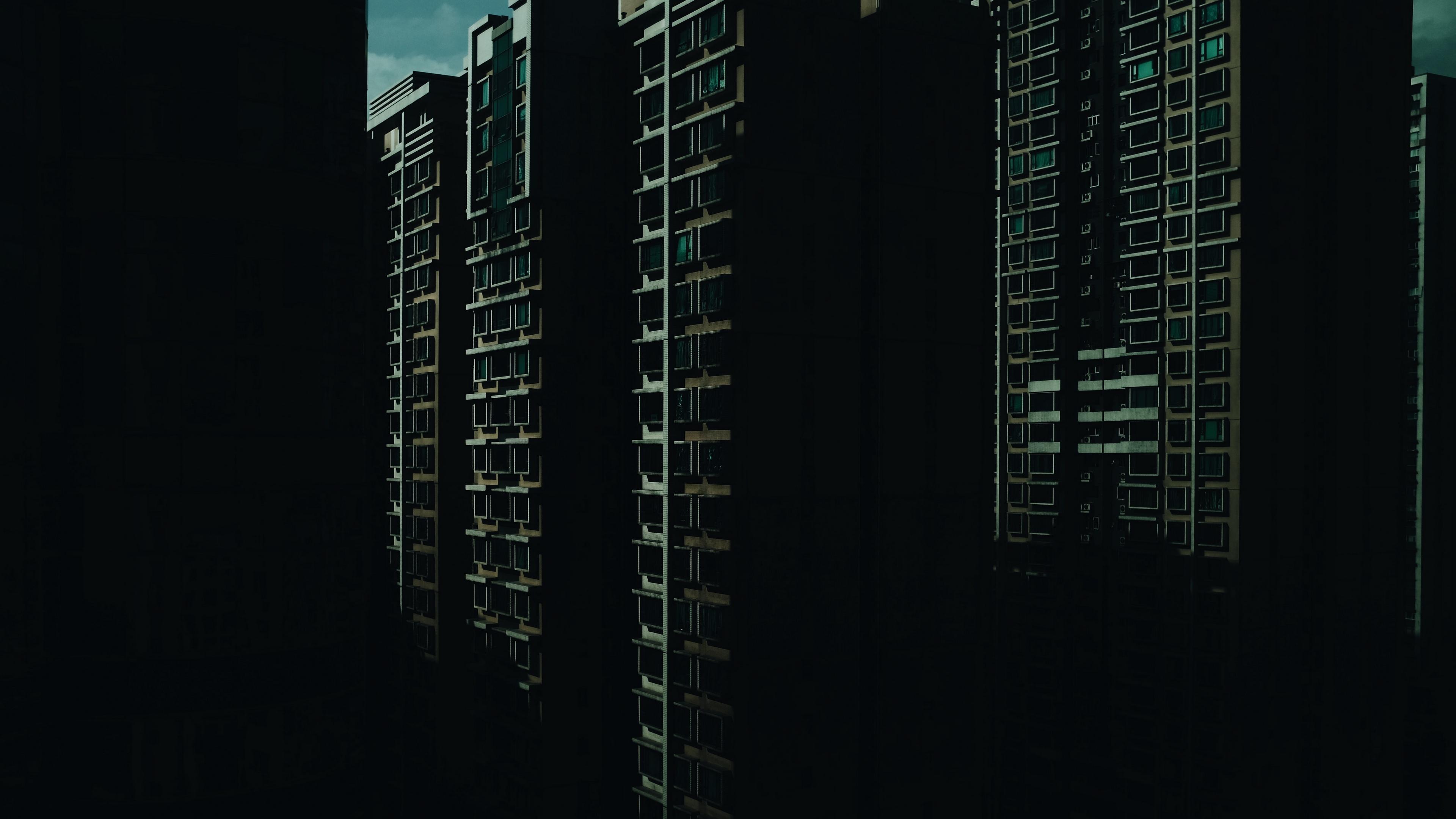 building facade skyscraper 4k 1538065319 - building, facade, skyscraper 4k - Skyscraper, facade, Building