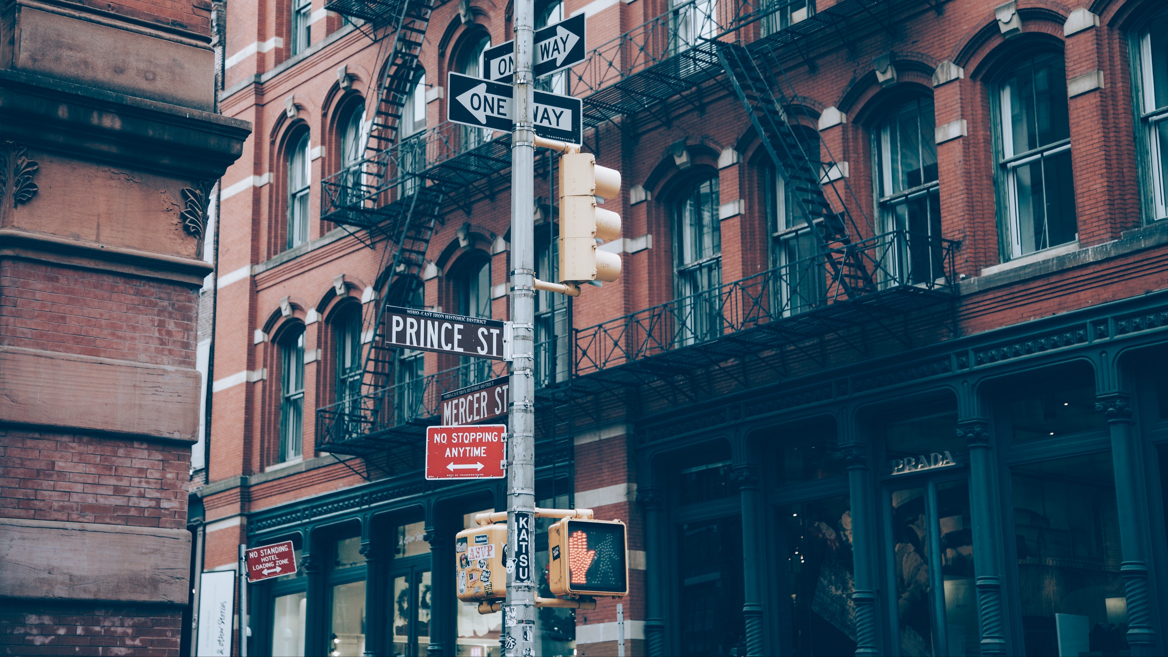 building street signs 4k 1538066881 - building, street, signs 4k - Street, signs, Building