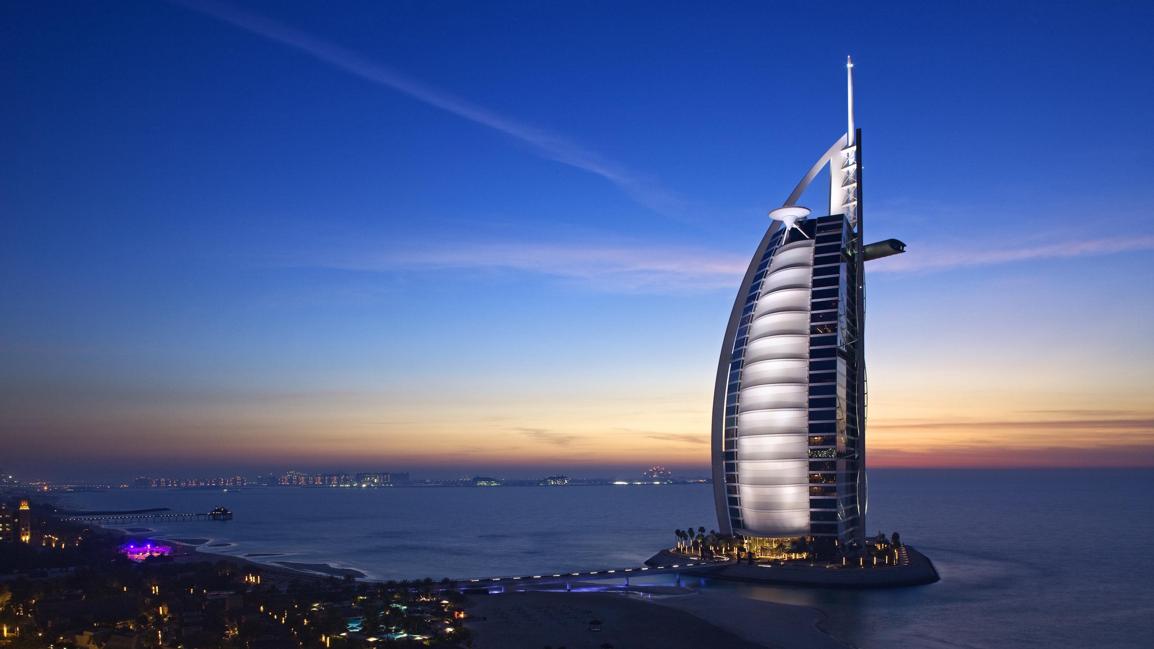 burj al arab hotel dubai uae sky sea 4k 1538065697 - burj al arab hotel, dubai, uae, sky, sea 4k - uae, Dubai, burj al arab hotel