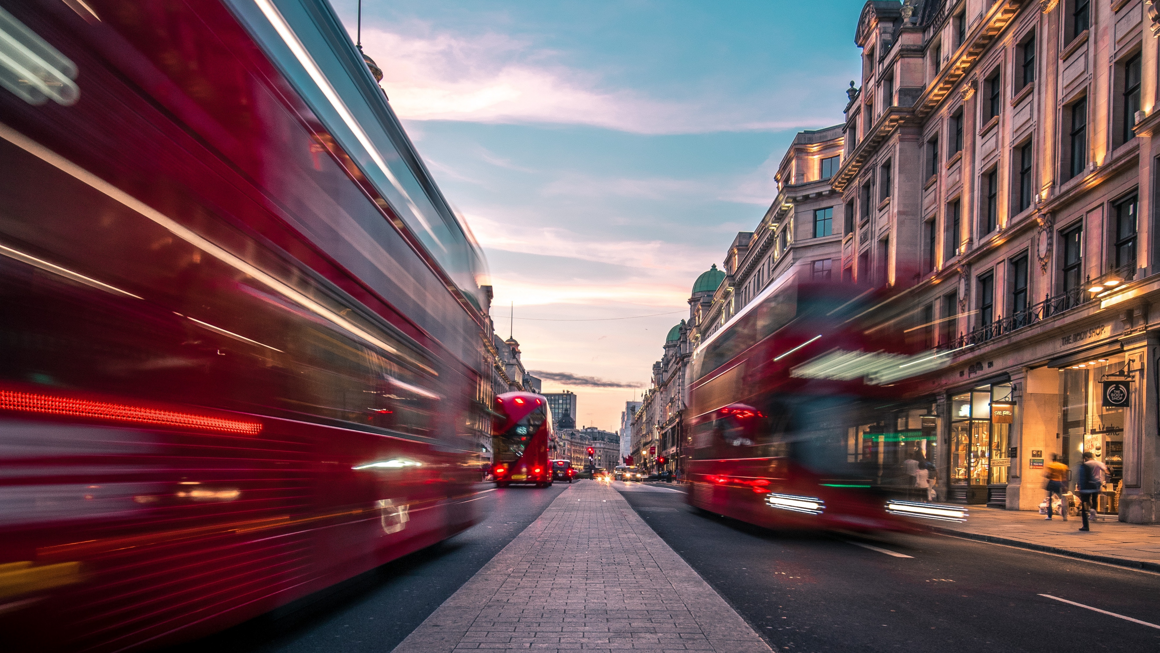 buses speed traffic street london united kingdom 4k 1538066740 - buses, speed, traffic, street, london, united kingdom 4k - Traffic, speed, buses