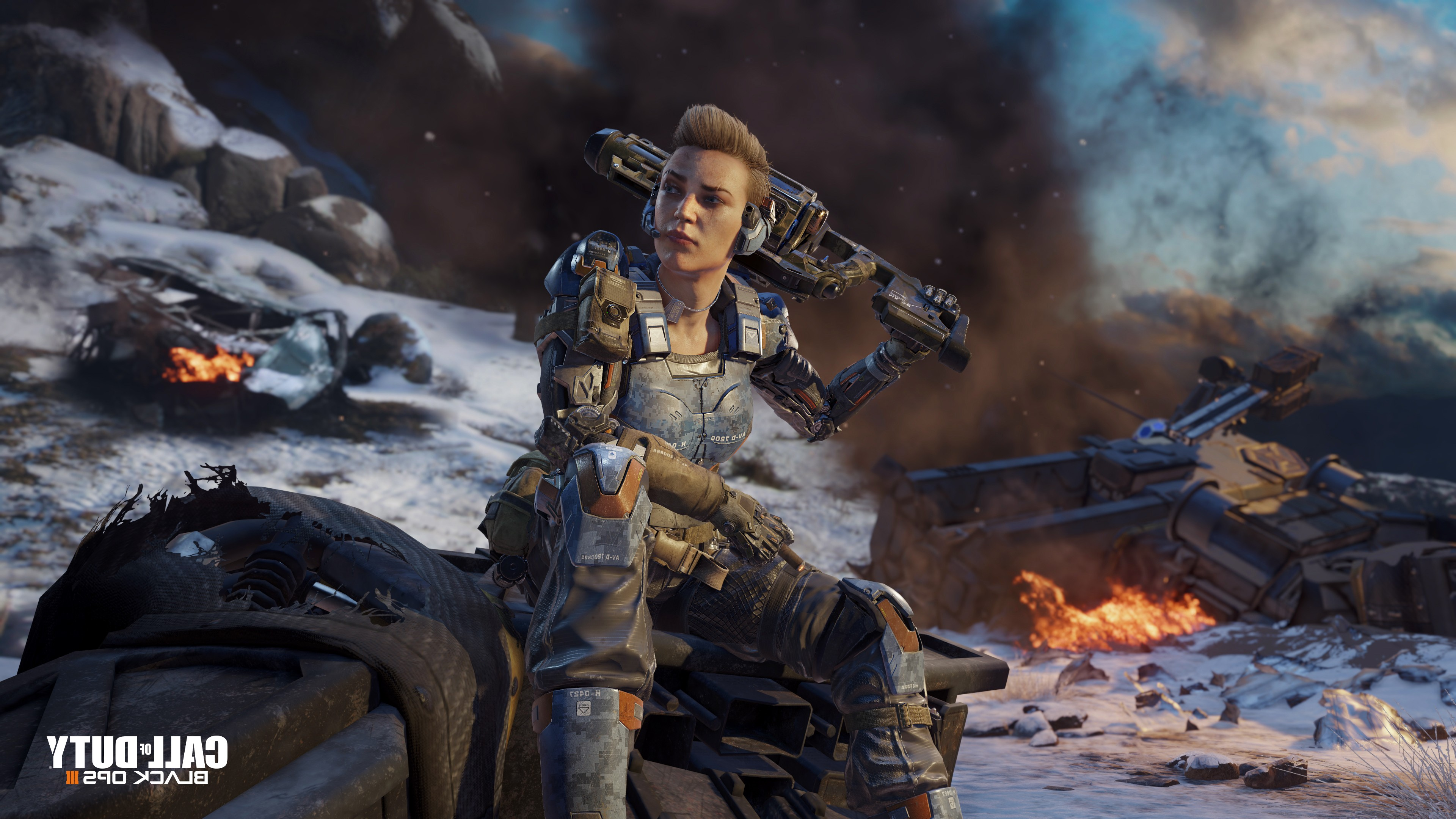 Wallpaper 4k Call Of Duty Black Ops 3 Game Call Of Duty Black Ops