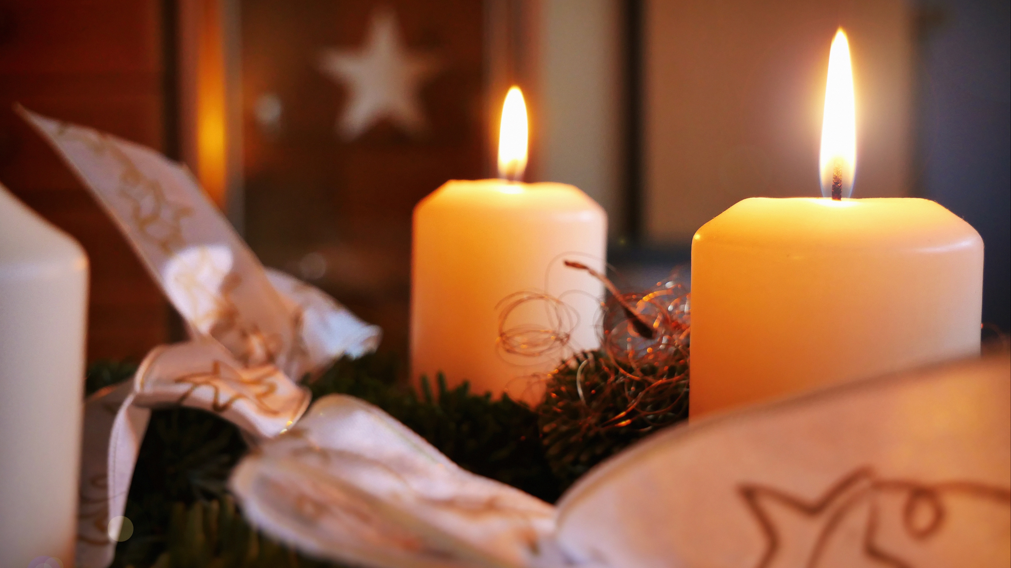 candles christmas new year 4k 1538344683 - candles, christmas, new year 4k - new year, Christmas, Candles