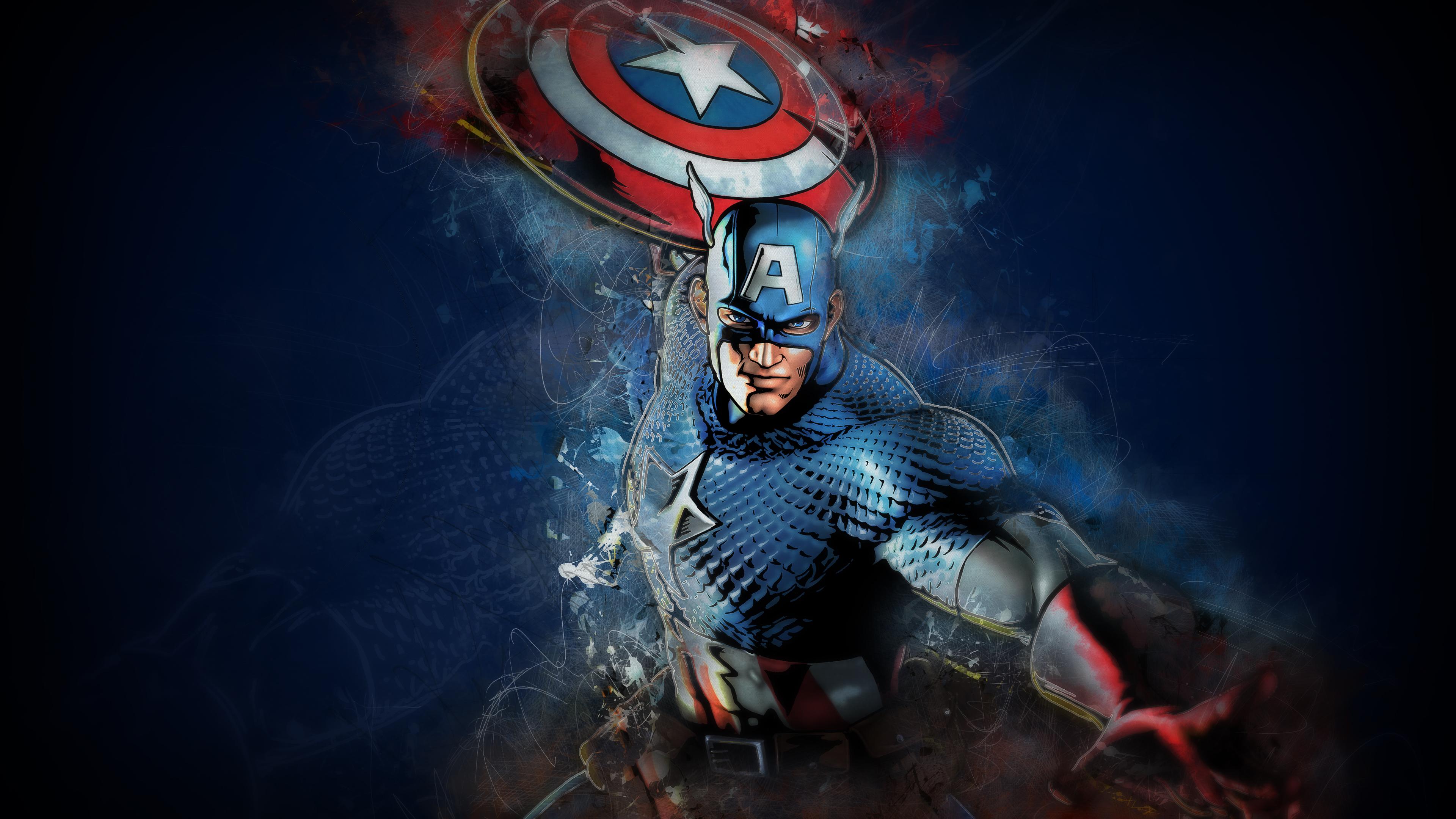captain america artwork 4k 1536521926 - Captain America Artwork 4k - superheroes wallpapers, hd-wallpapers, digital art wallpapers, captain america wallpapers, artwork wallpapers, artist wallpapers, 4k-wallpapers