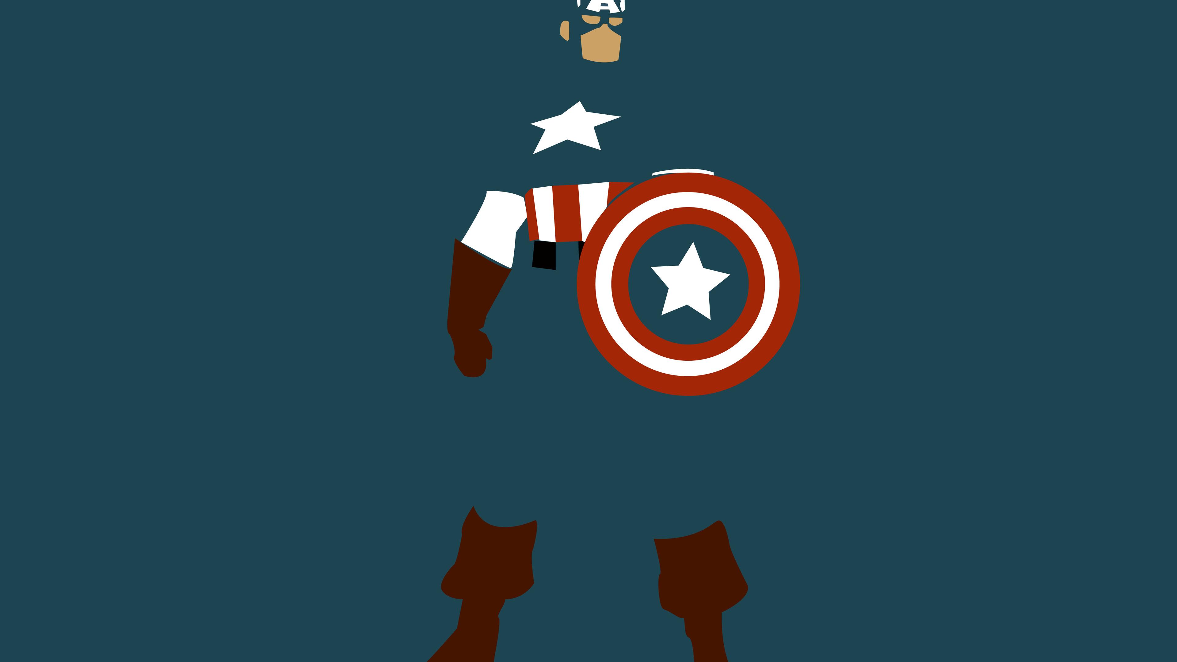 captain america minimalism 1536521947 - Captain America Minimalism - superheroes wallpapers, minimalism wallpapers, marvel wallpapers, hd-wallpapers, digital art wallpapers, deviantart wallpapers, captain america wallpapers, artwork wallpapers, artist wallpapers, 4k-wallpapers
