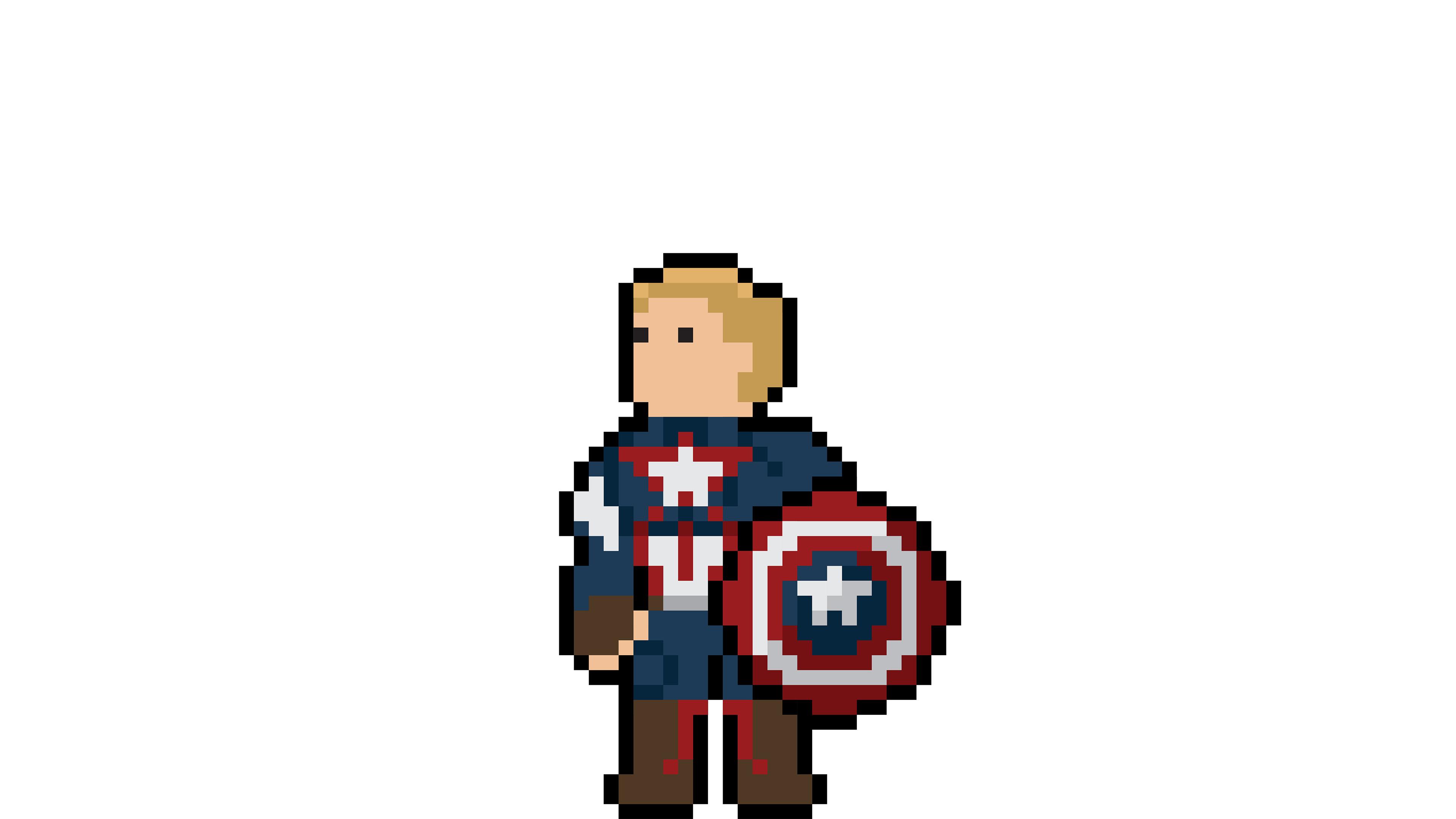 captain america pixel art 1536522502 - Captain America Pixel Art - superheroes wallpapers, pixel wallpapers, hd-wallpapers, digital art wallpapers, captain america wallpapers, behance wallpapers, artwork wallpapers, artist wallpapers, art wallpapers, 4k-wallpapers