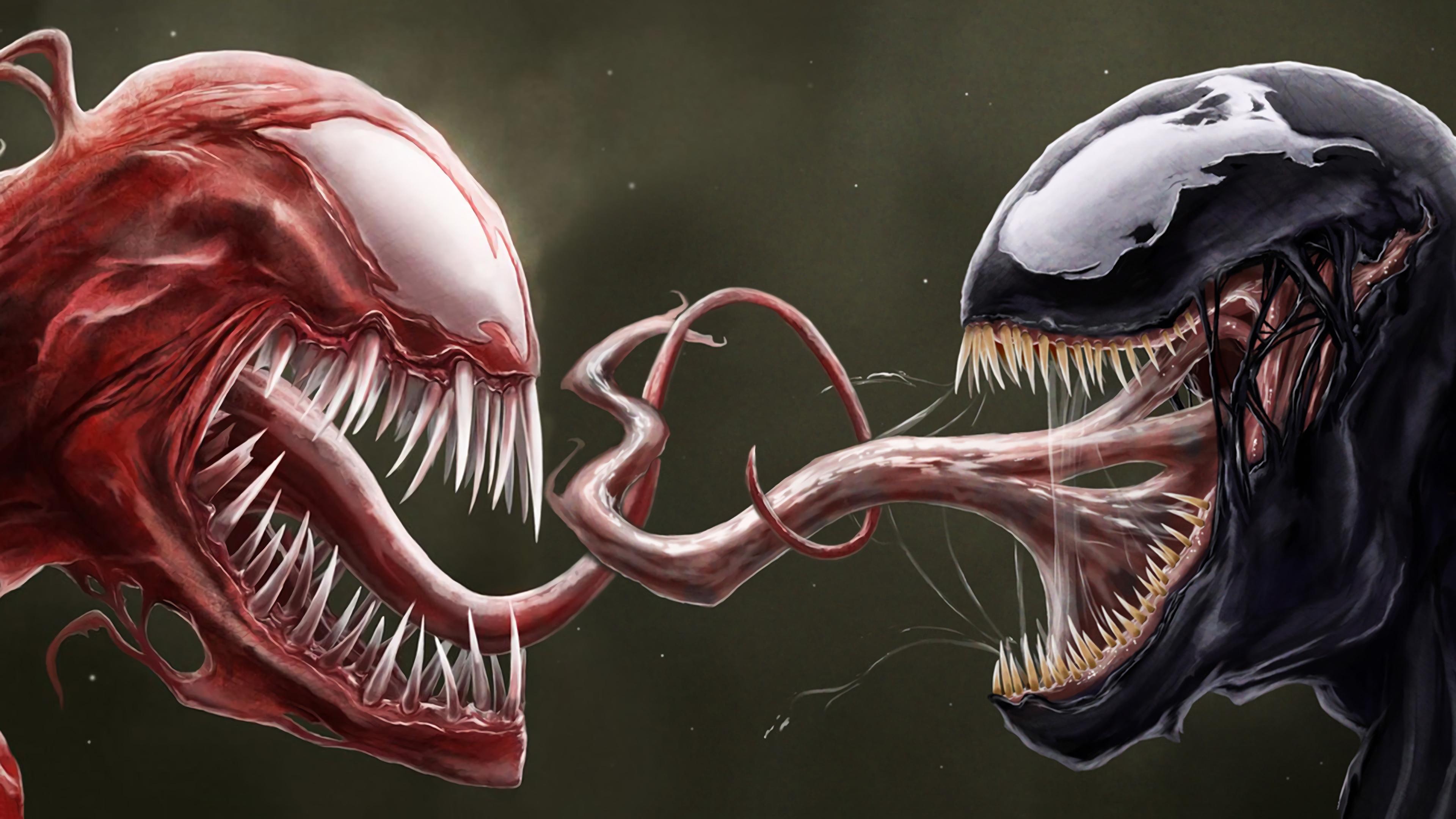 carnage and venom artwork 1536523899 - Carnage And Venom Artwork - Venom wallpapers, supervillain wallpapers, superheroes wallpapers, hd-wallpapers, carnage wallpapers, artwork wallpapers, 4k-wallpapers
