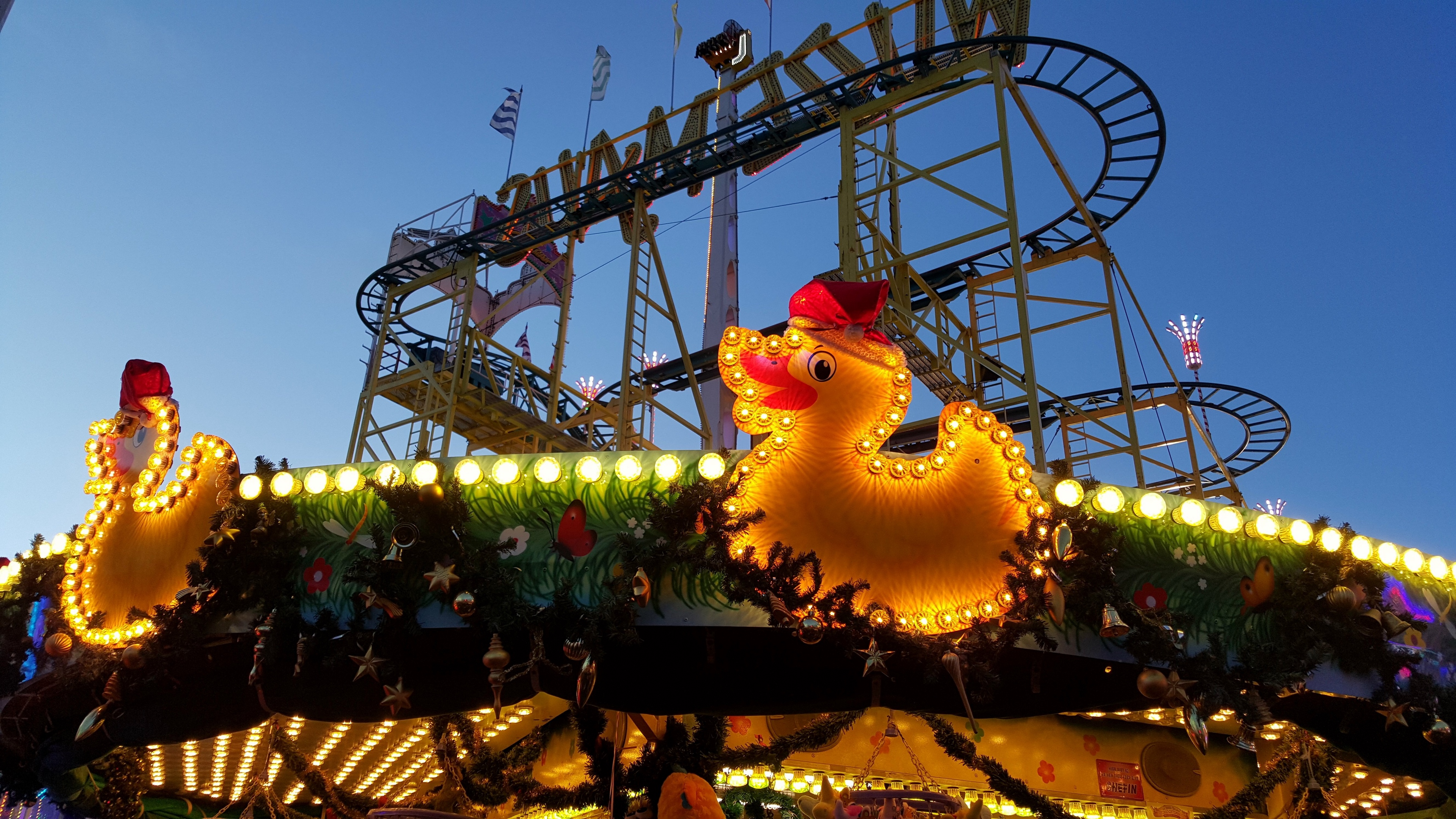carousel berlin attraction ducks 4k 1538064839 - carousel, berlin, attraction, ducks 4k - carousel, Berlin, attraction