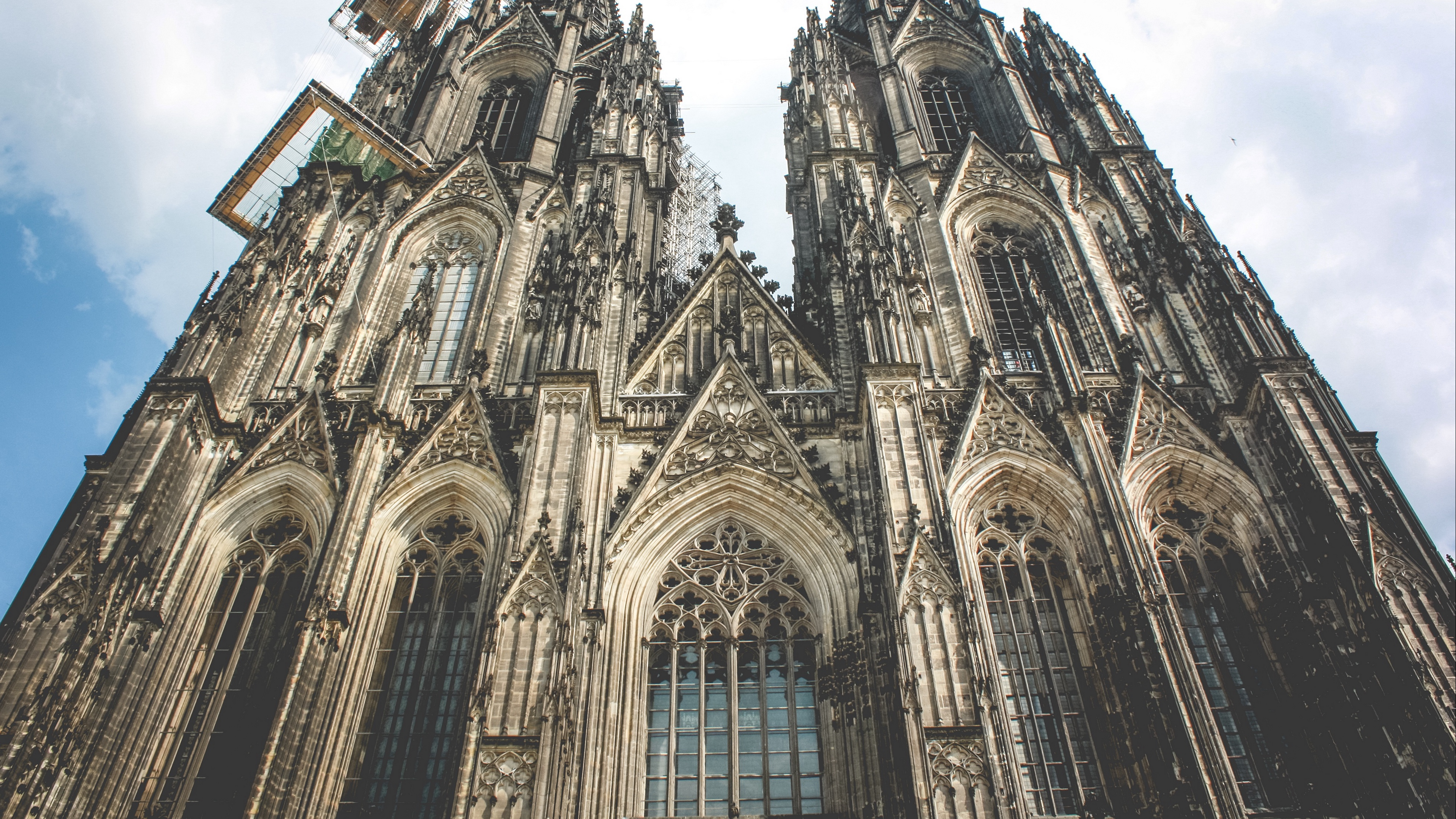 cathedral church germany cologne 4k 1538065034 - cathedral, church, germany, cologne 4k - Germany, Church, Cathedral