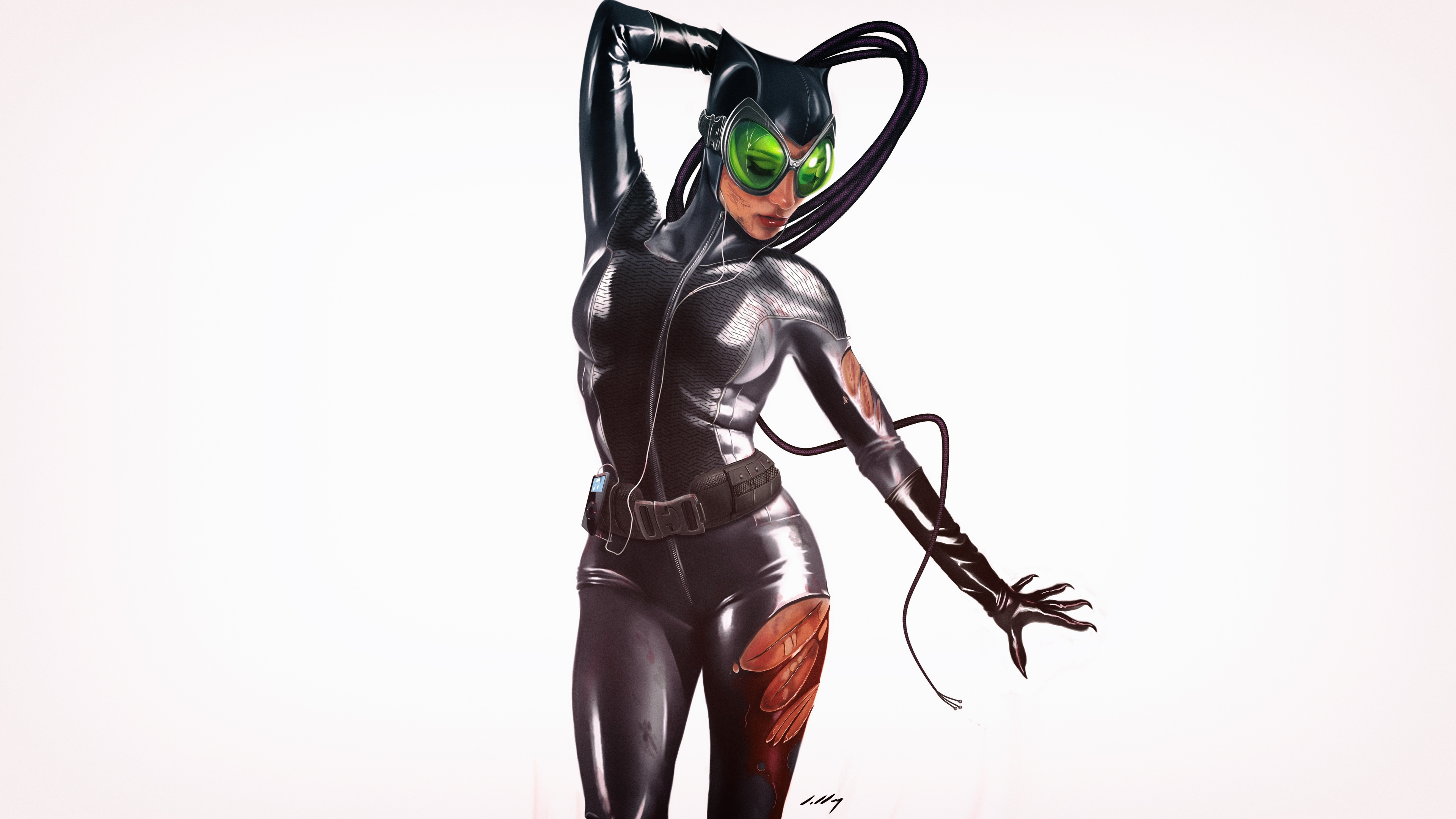 catwoman 4k art 1537646009 - Catwoman 4k Art - supervillain wallpapers, superheroes wallpapers, digital art wallpapers, deviantart wallpapers, catwoman wallpapers, artwork wallpapers, artist wallpapers, art wallpapers, 4k-wallpapers