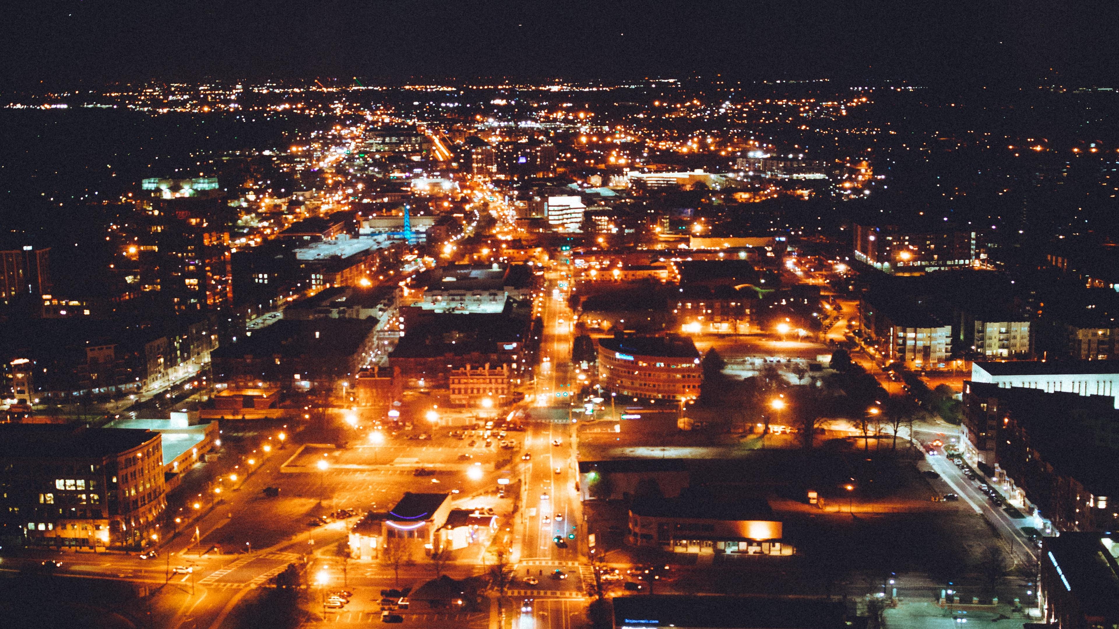 charlotte united states night city 4k 1538065361 - charlotte, united states, night city 4k - united states, night city, charlotte
