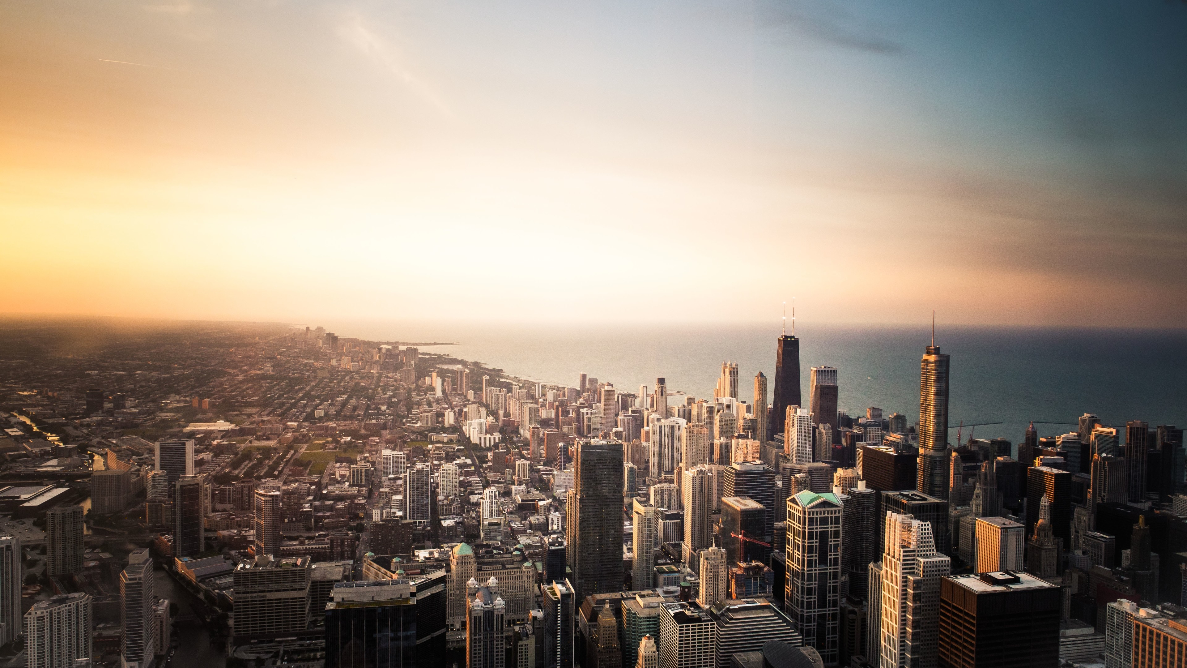 chicago cityscape buildings sea 5k 1538070277 - Chicago Cityscape Buildings Sea 5k - sea wallpapers, photography wallpapers, hd-wallpapers, cityscape wallpapers, chicago wallpapers, buildings wallpapers, 5k wallpapers, 4k-wallpapers